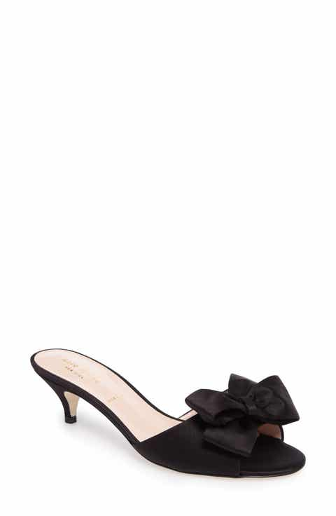 Womens kate spade new york wedding shoes nordstrom kate spade new york plaza bow mule women junglespirit Image collections
