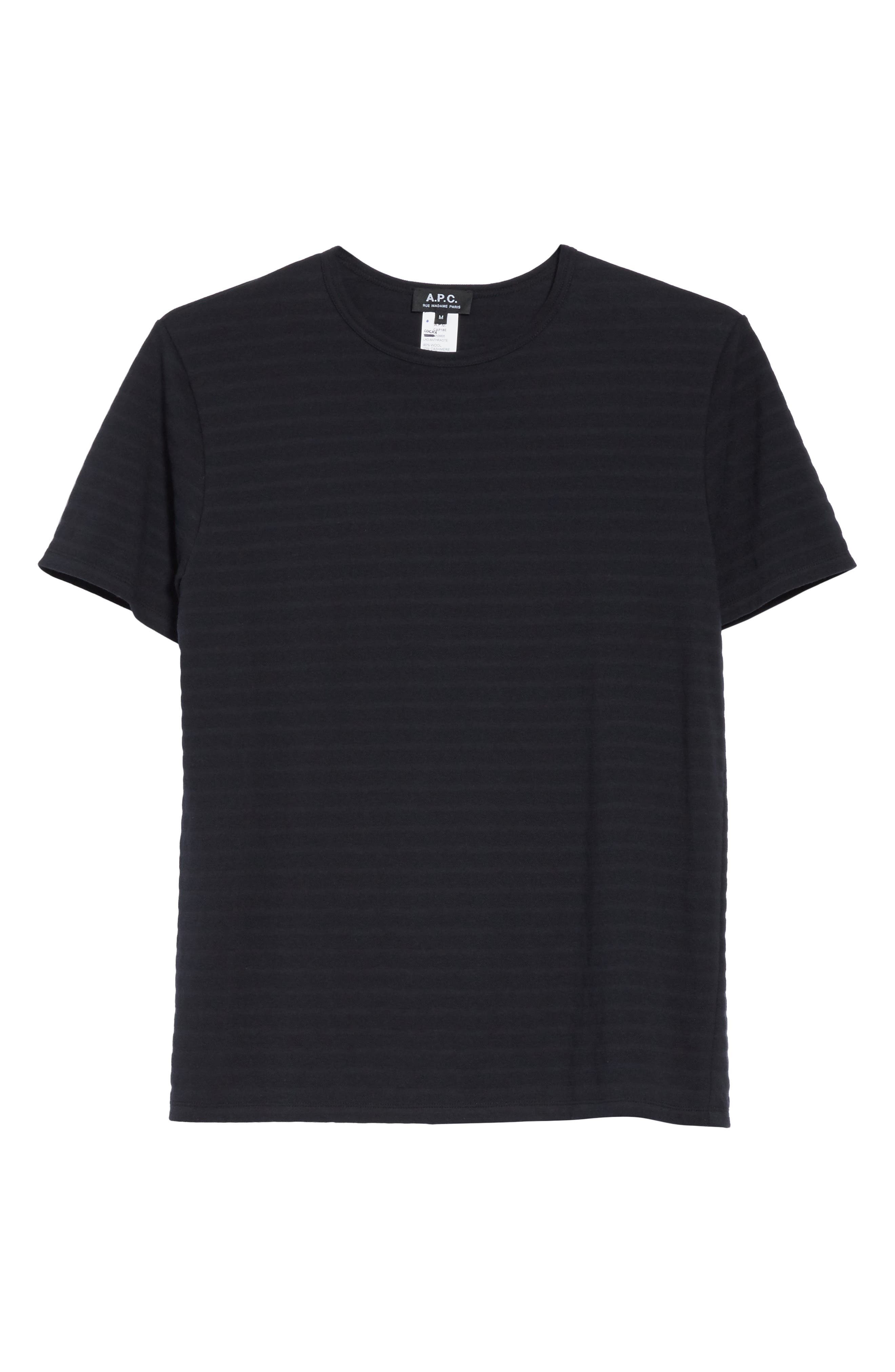Winston Crewneck T-Shirt,                             Alternate thumbnail 6, color,                             Anthracite