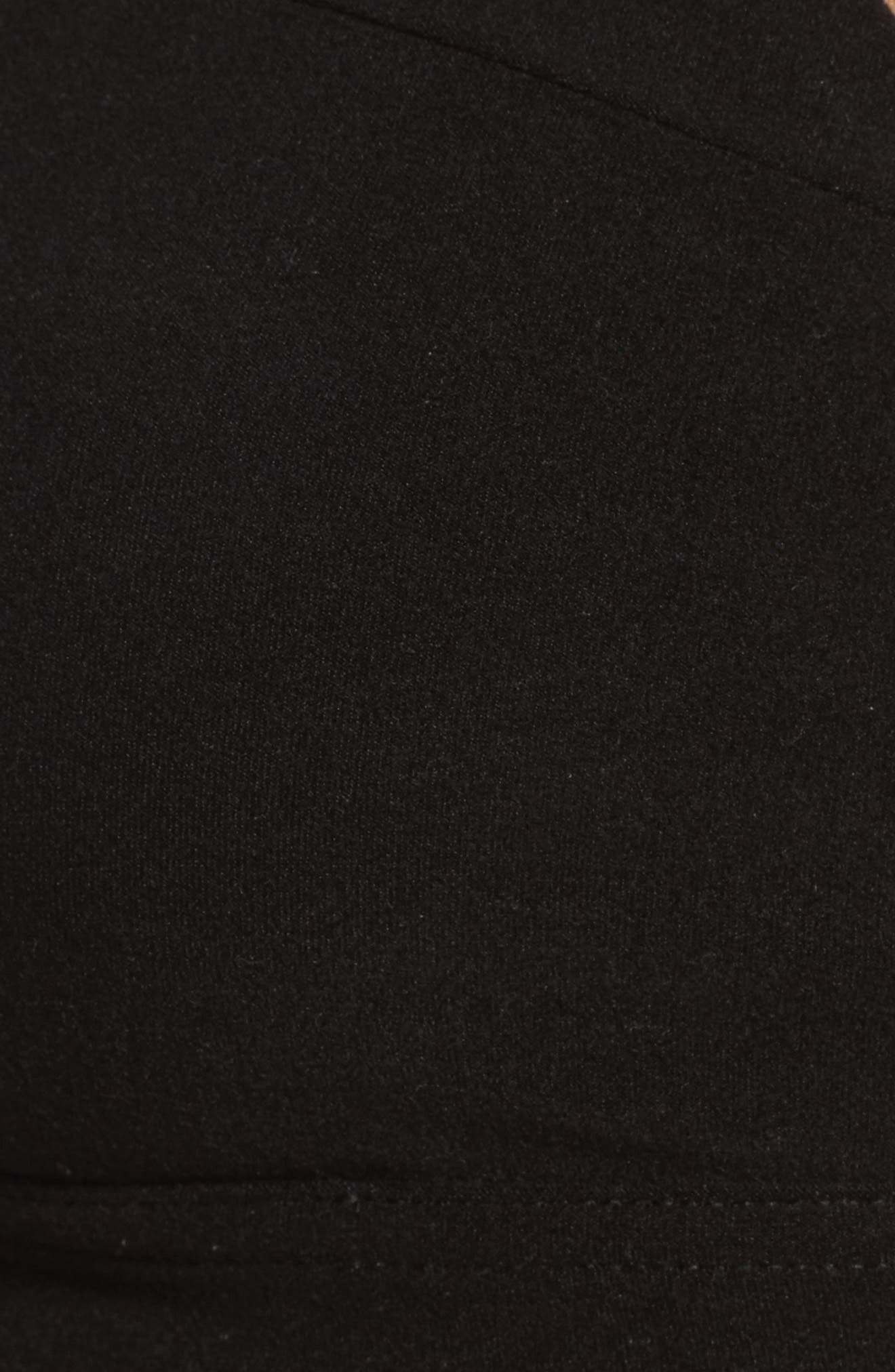 Lounge Sports Bra,                             Alternate thumbnail 6, color,                             Black