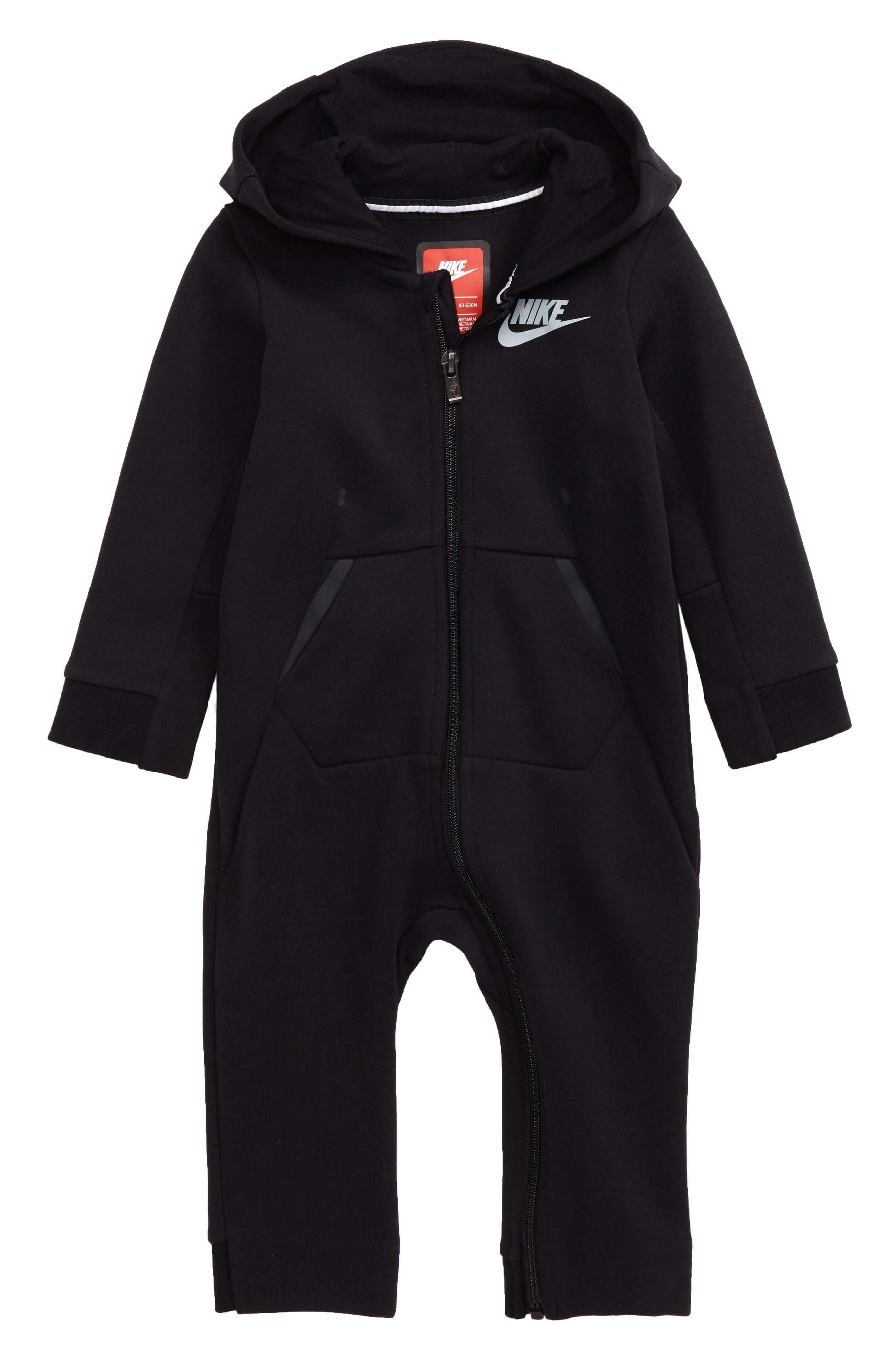 Nike Tech Fleece Romper (Baby)