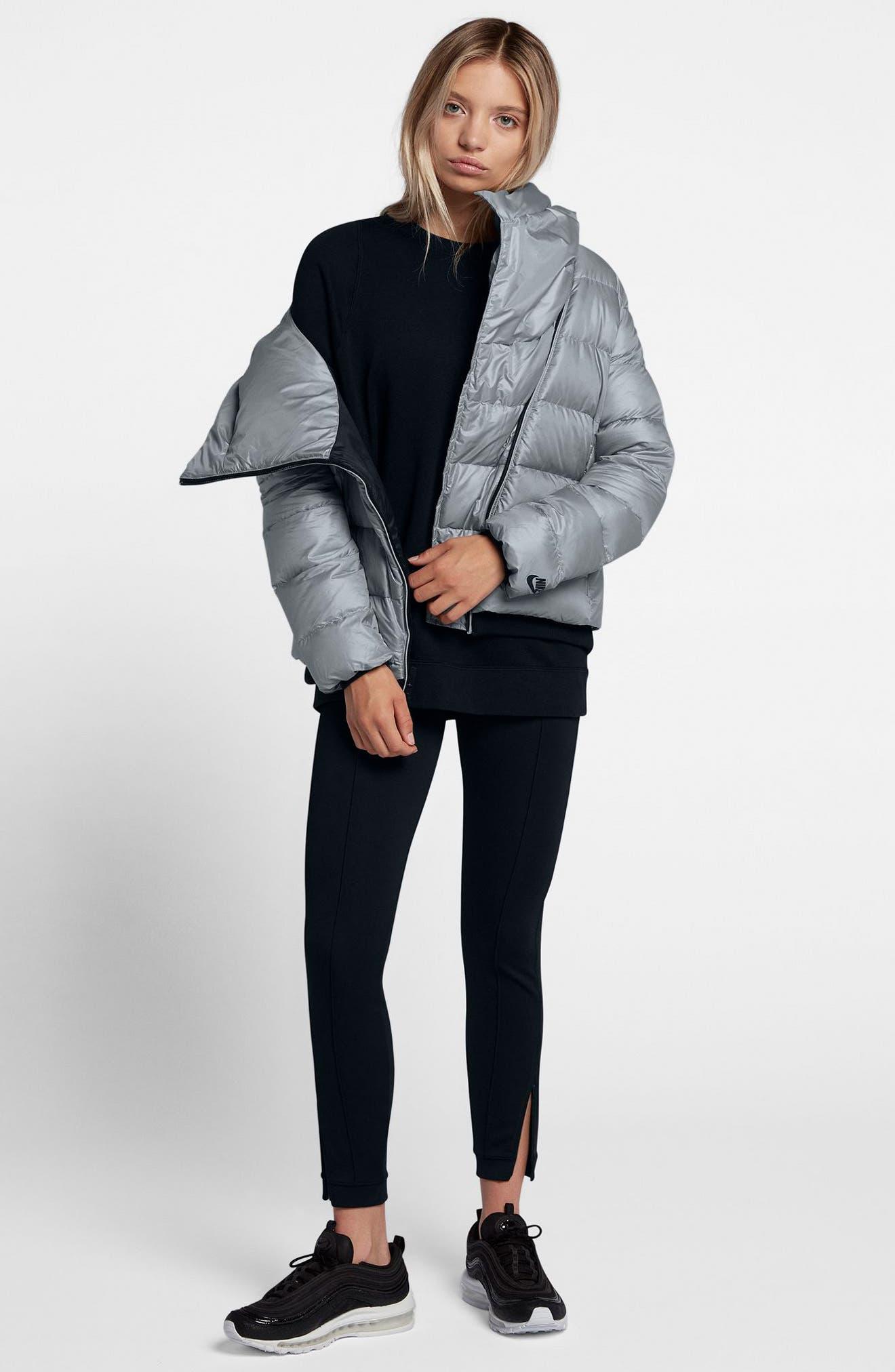 Alternate Image 7  - Nike Sportswear Women's Hooded Down Jacket