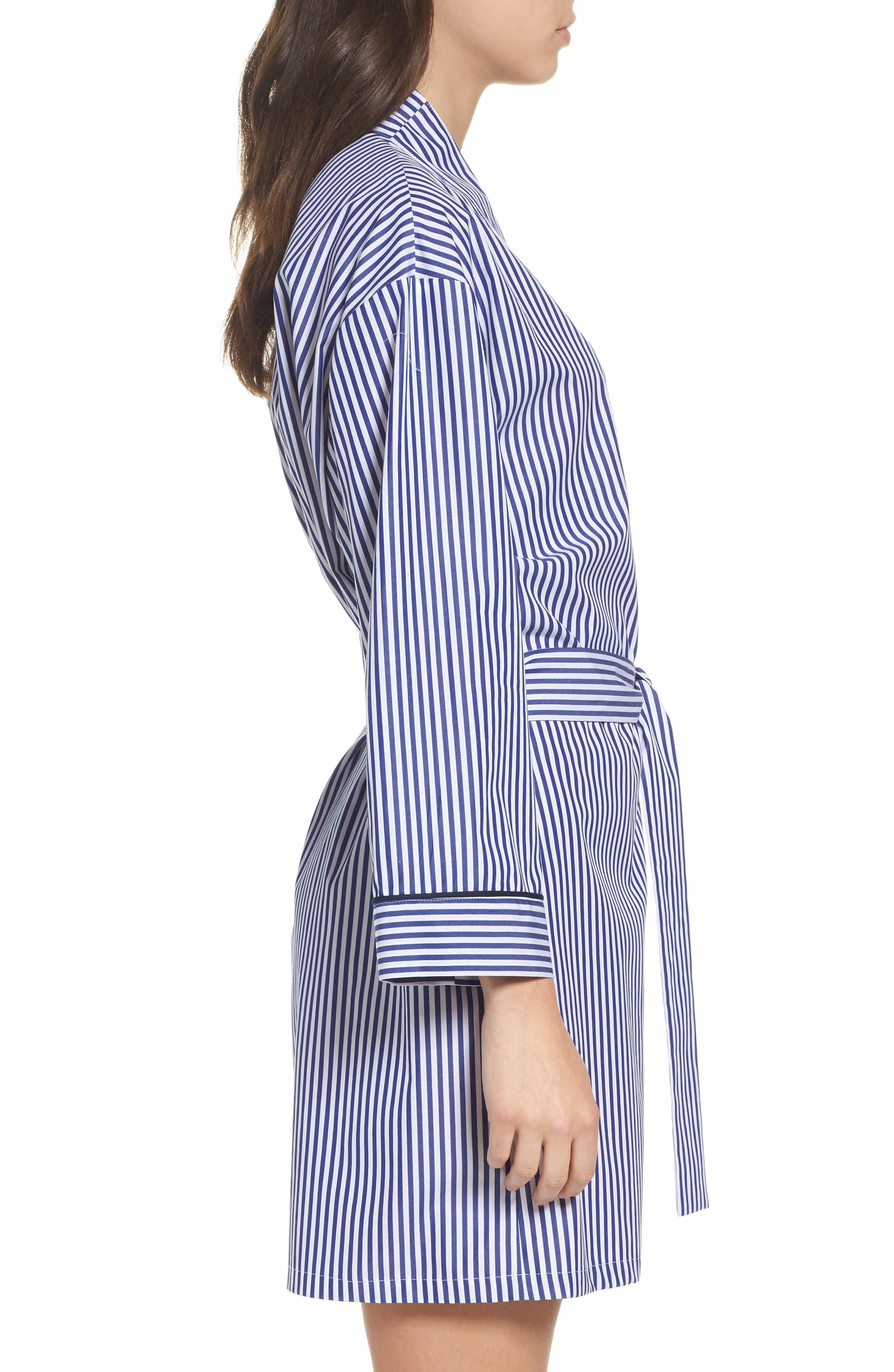 Alternate Image 3  - Pour Les Femmes Stripe Robe