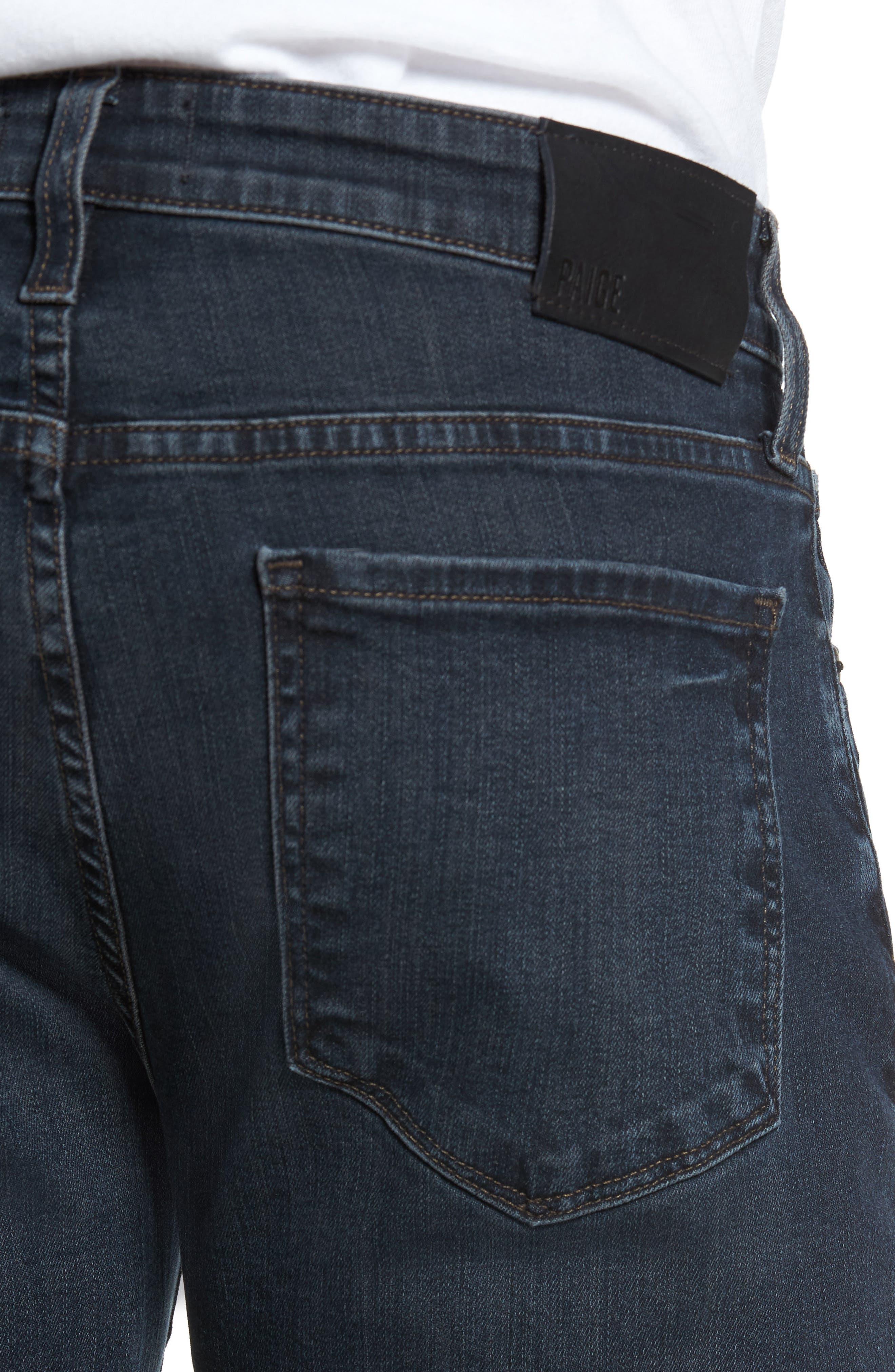 Lennox Slim Fit Jeans,                             Alternate thumbnail 4, color,                             Triton