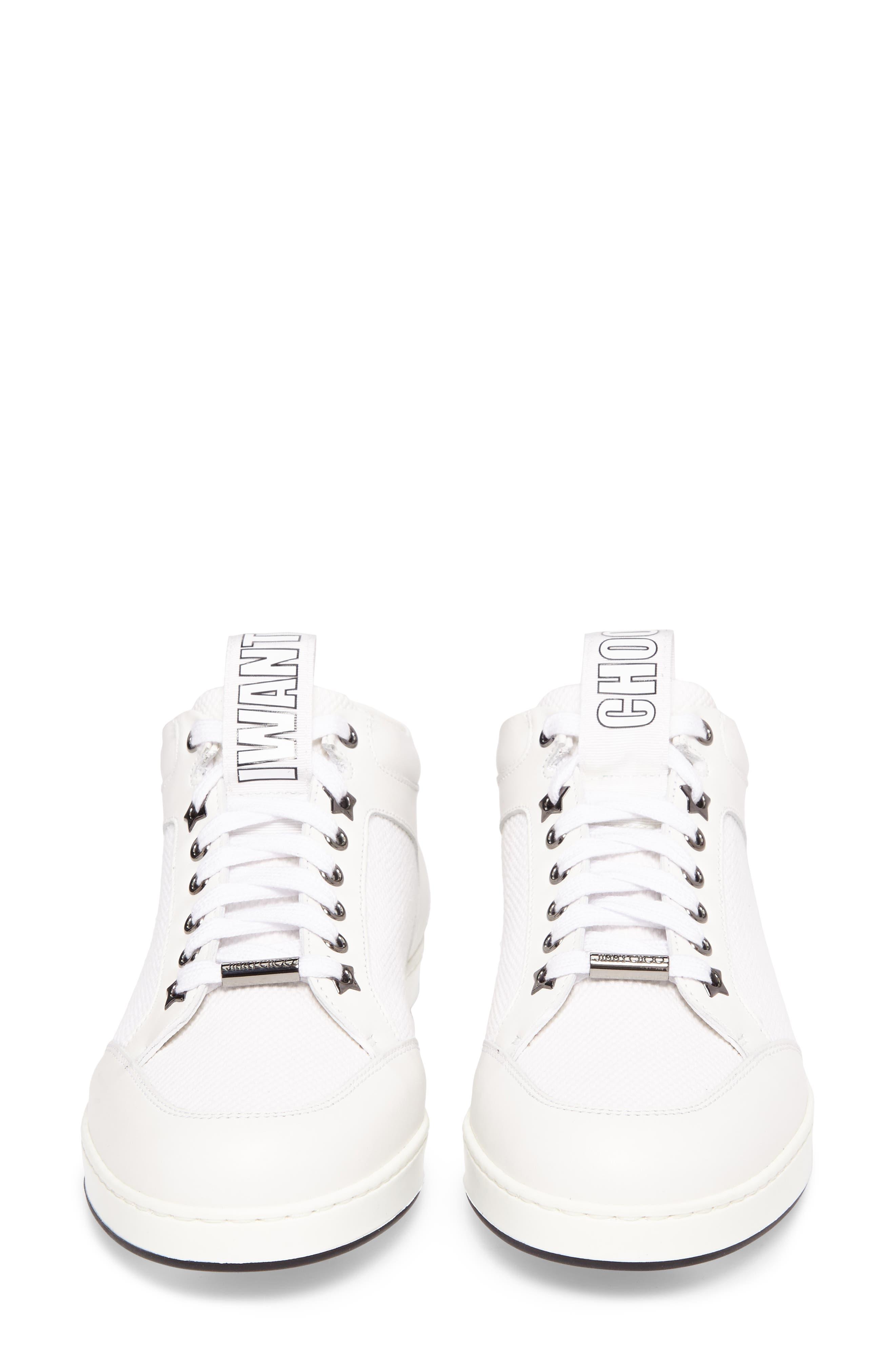Alternate Image 5  - Jimmy Choo Miami Mid Top Sneaker (Women)