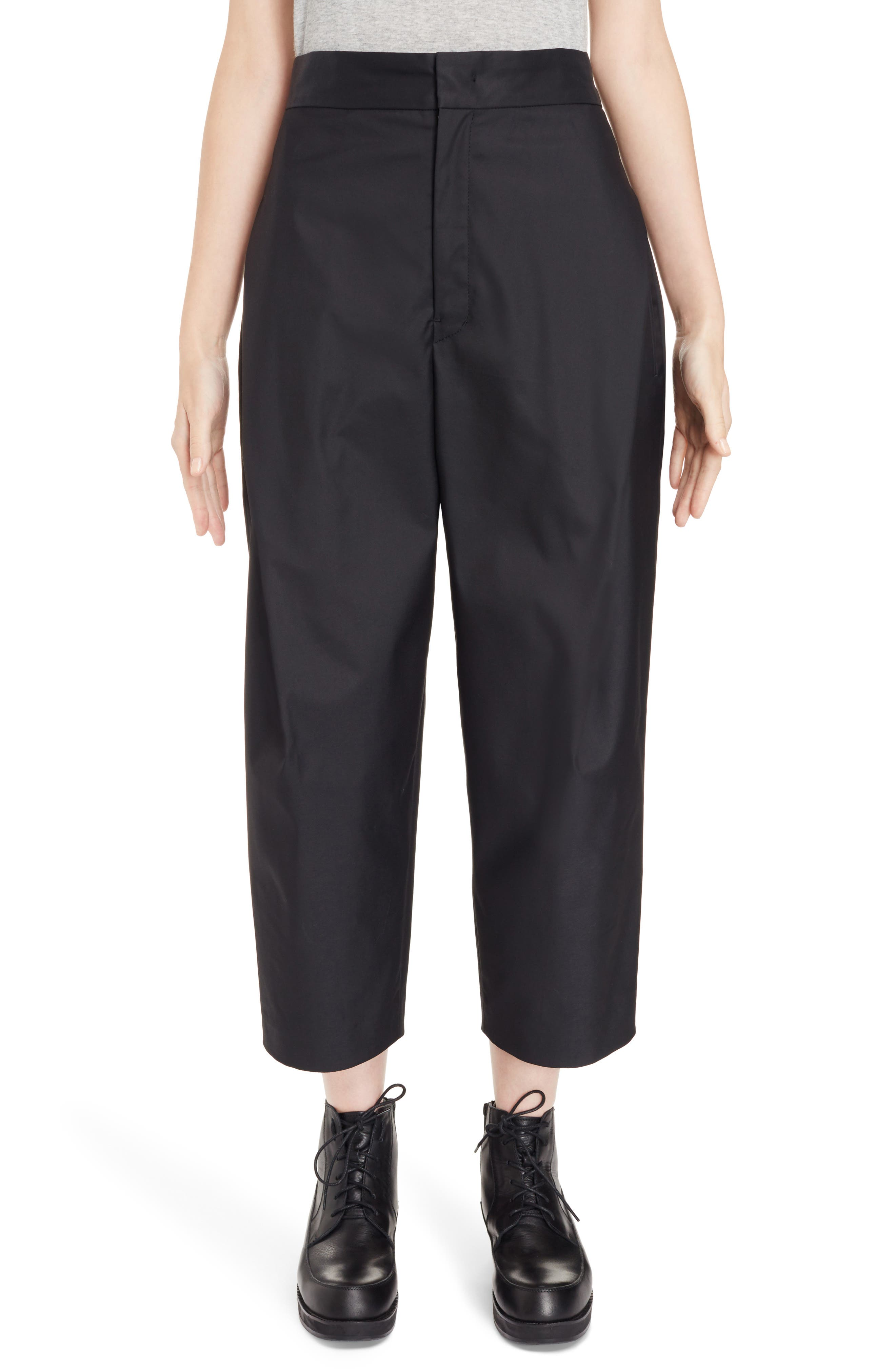 High Waist Pants,                             Main thumbnail 1, color,                             Black