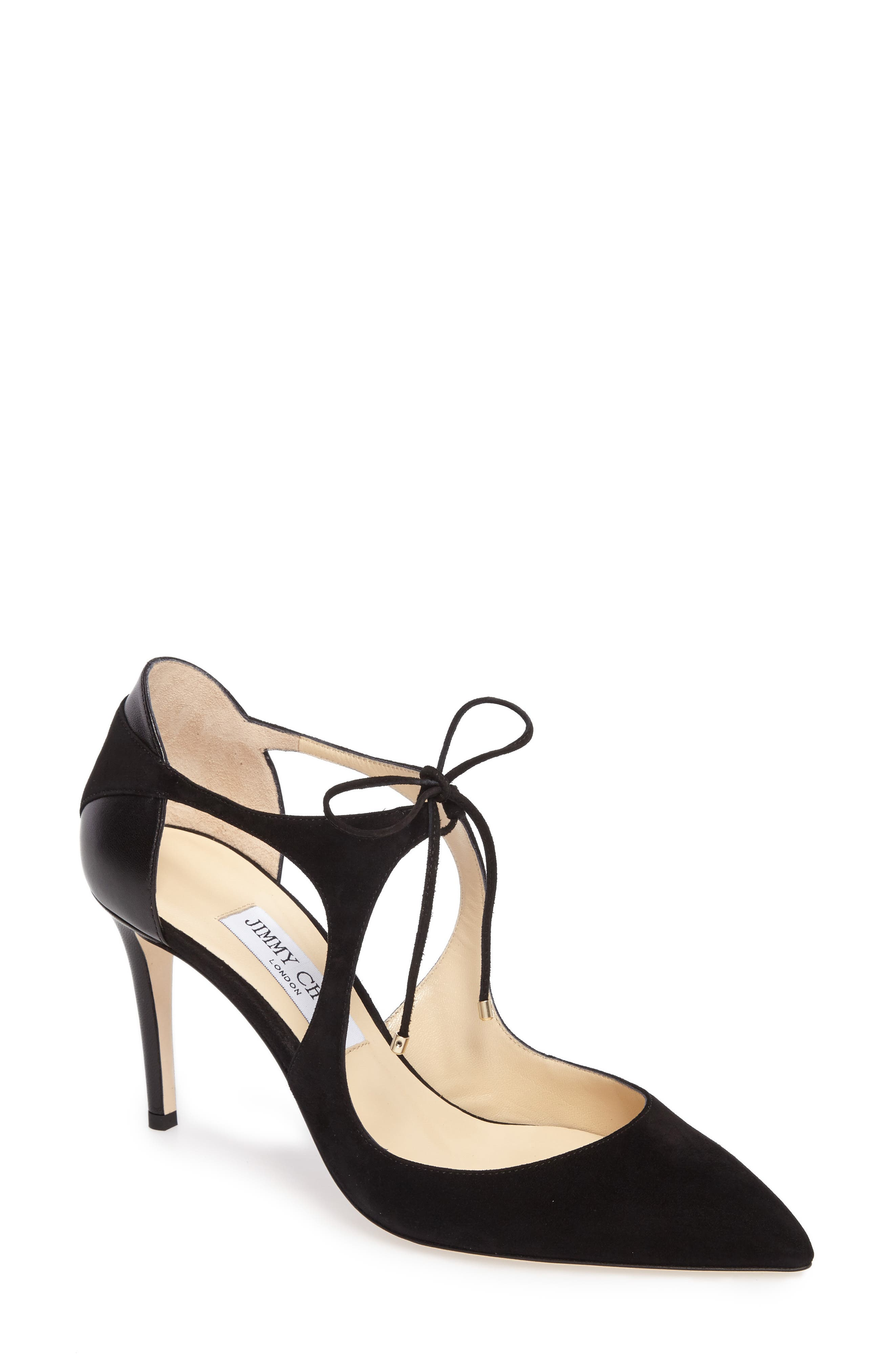 Alternate Image 1 Selected - Jimmy Choo Vanessa Lace-Up Pump (Women)