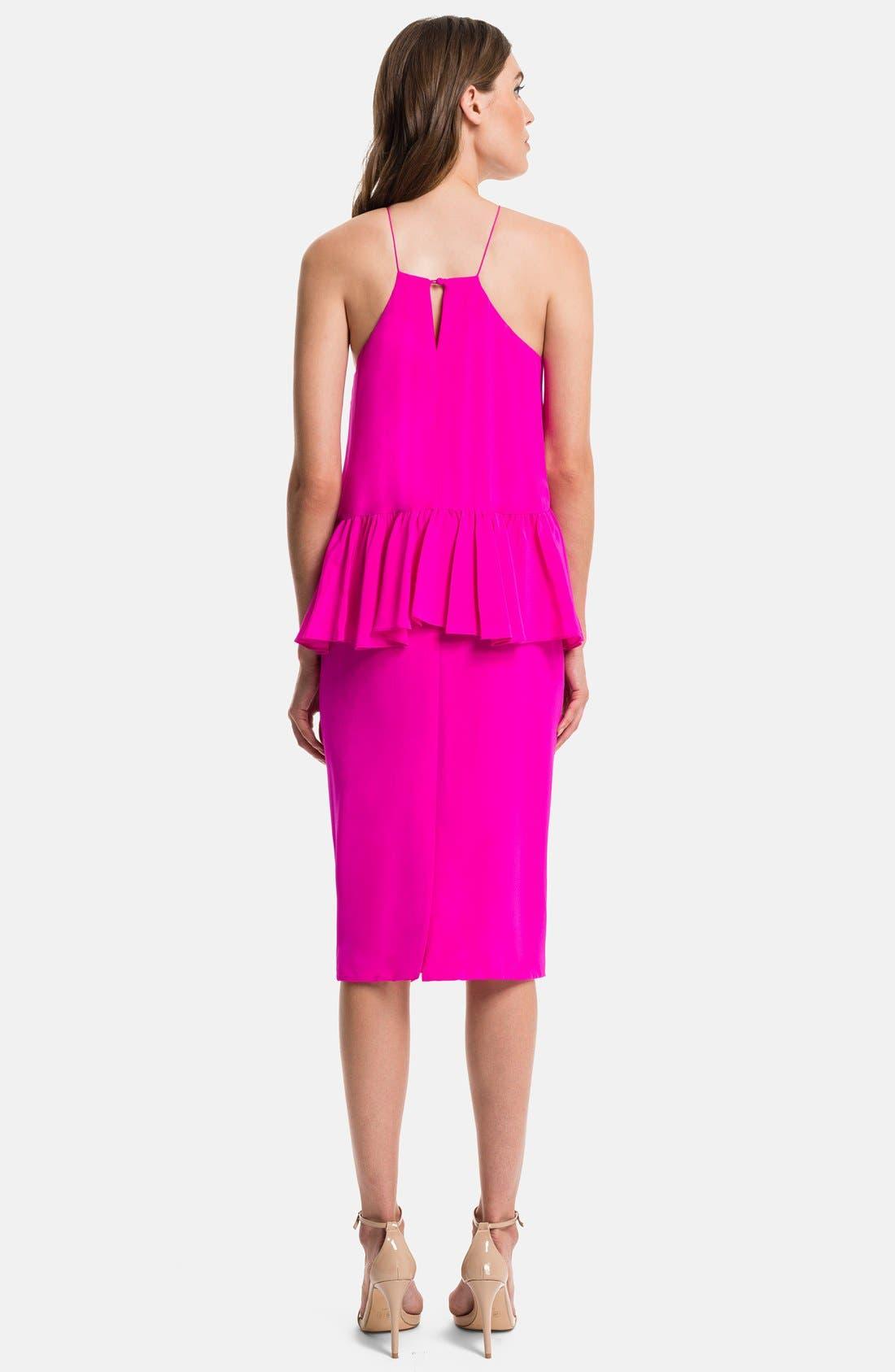 Alternate Image 2  - 1.STATE Ruffled Midi Dress