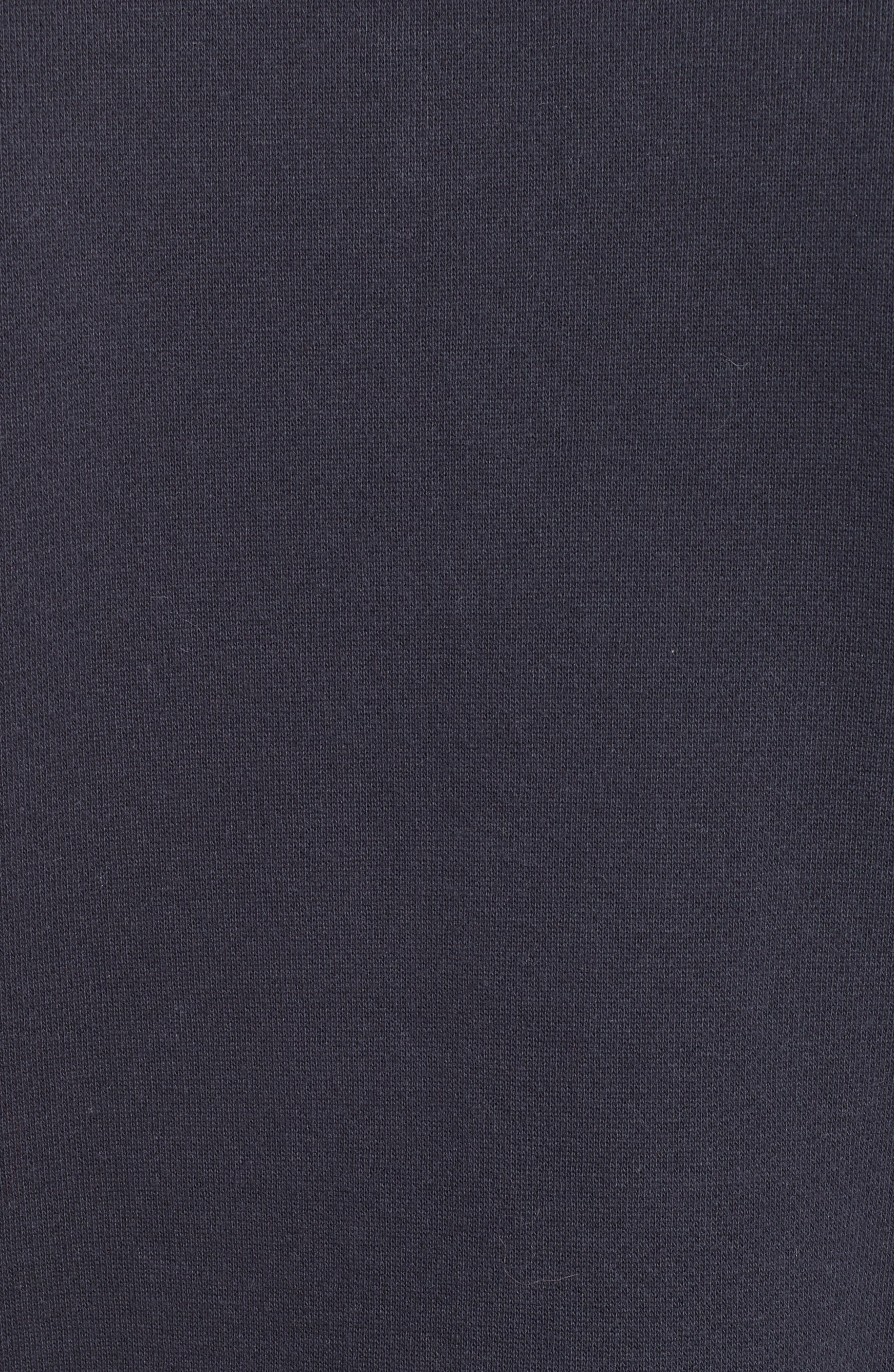 Alternate Image 5  - Rebecca Taylor Turtleneck Fleece Zip Pullover
