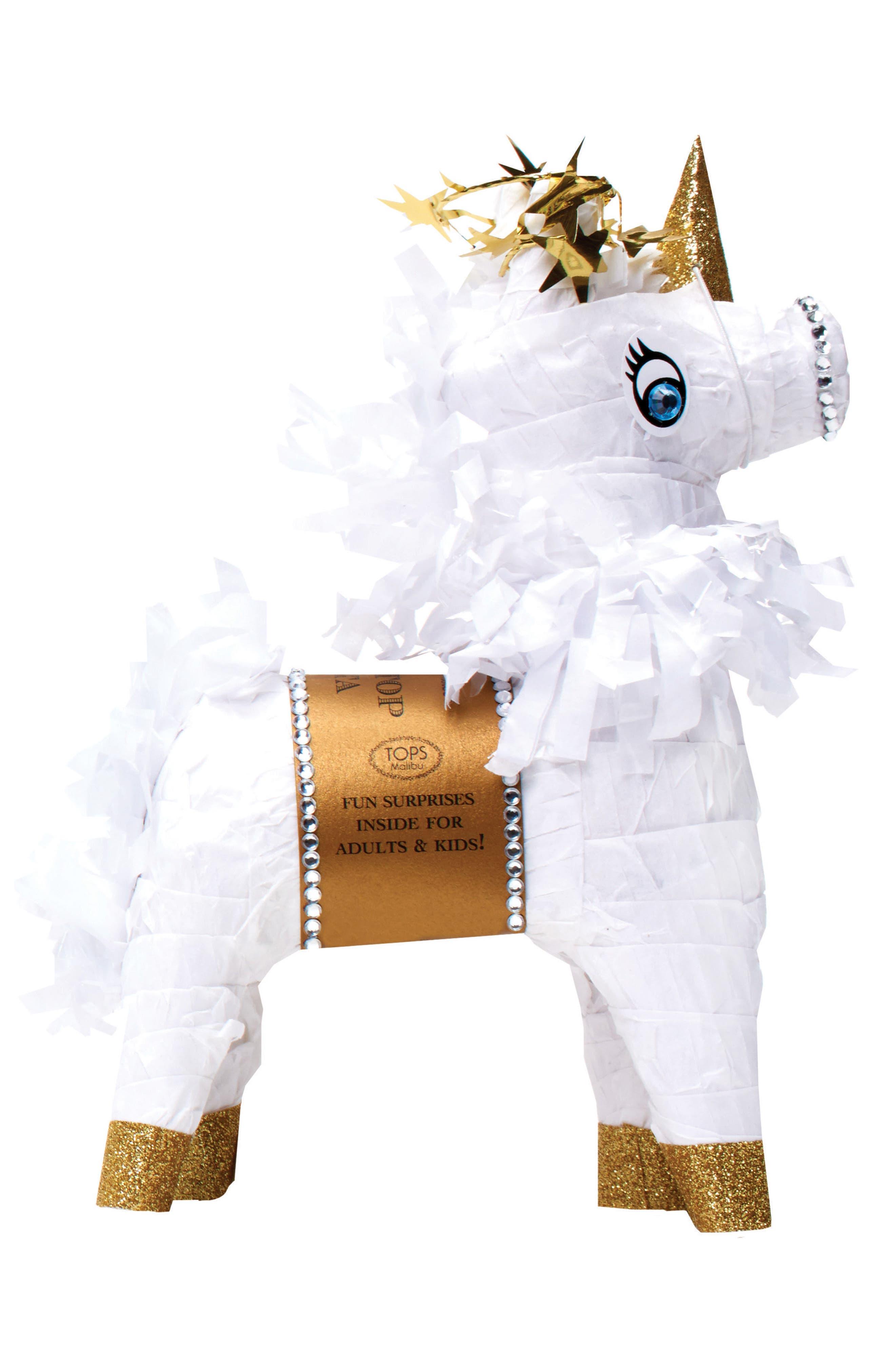 Tops Malibu Mini Tabletop Unicorn Piñata