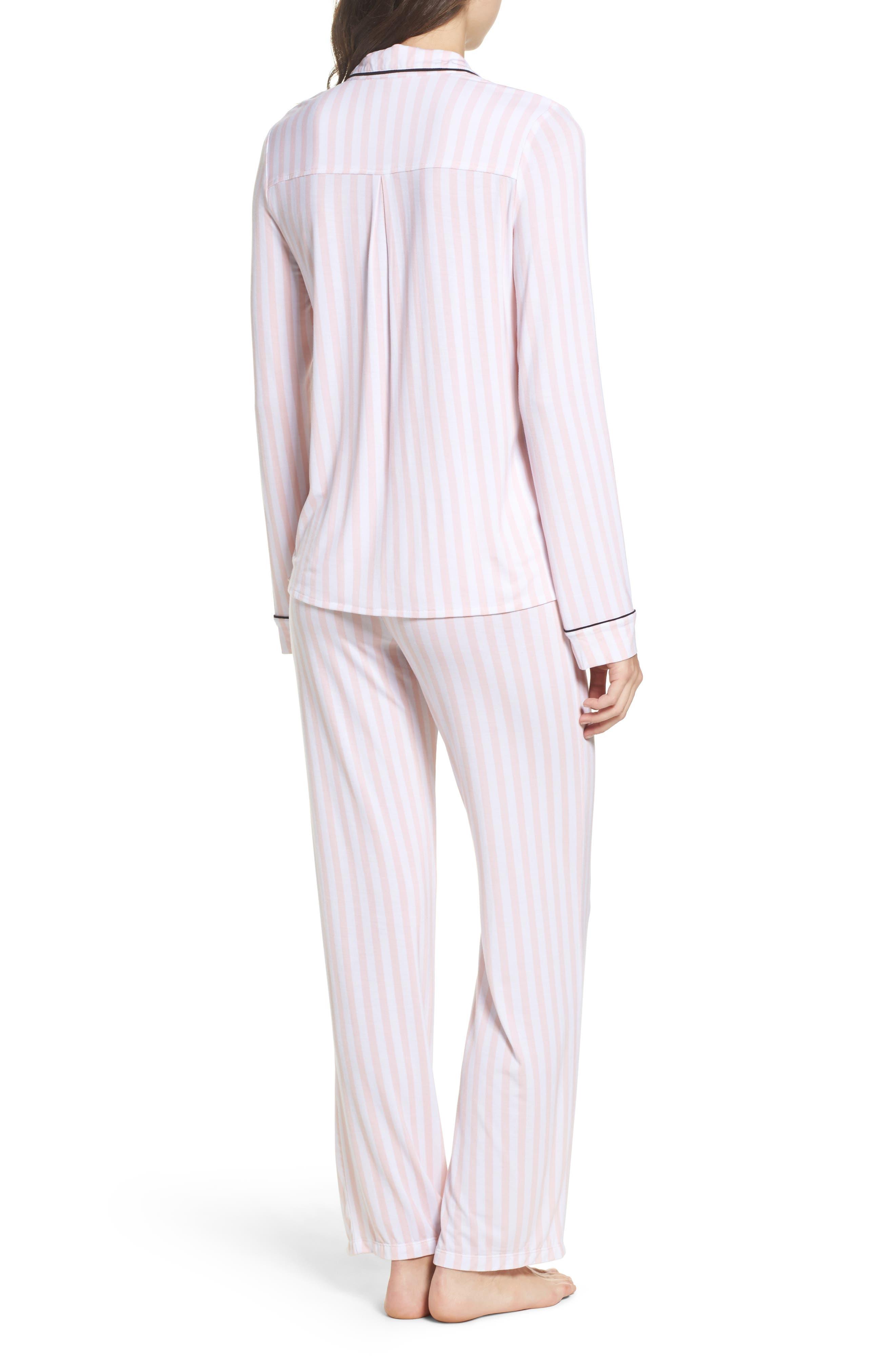 Alternate Image 2  - PJ Salvage Stretch Modal Pajamas & Eye Mask