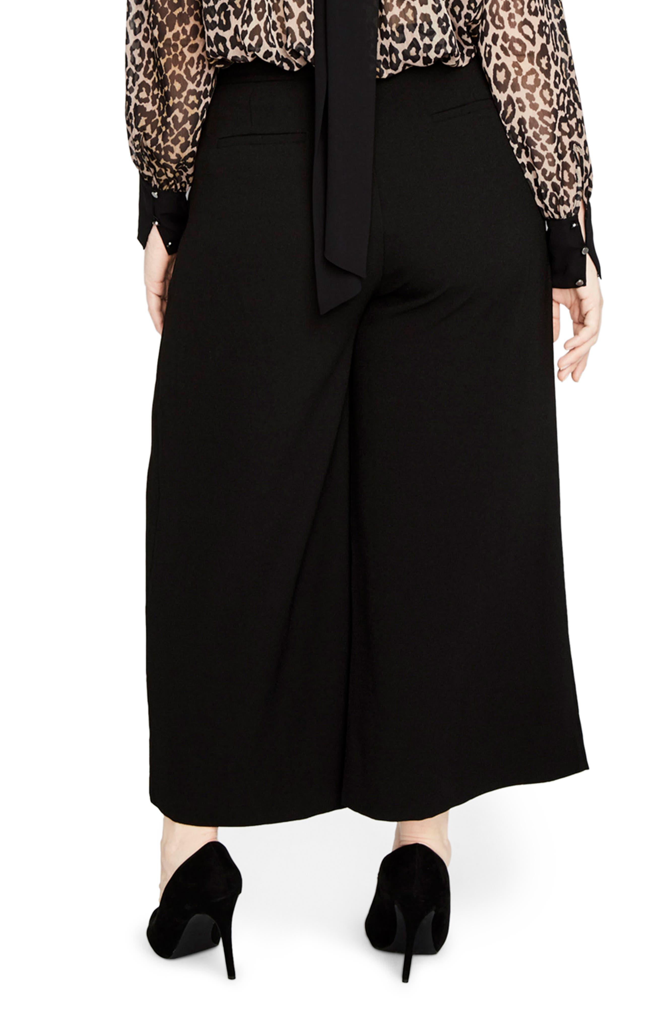 Alternate Image 2  - RACHEL Rachel Roy Cuffed Flare Pants (Plus Size)