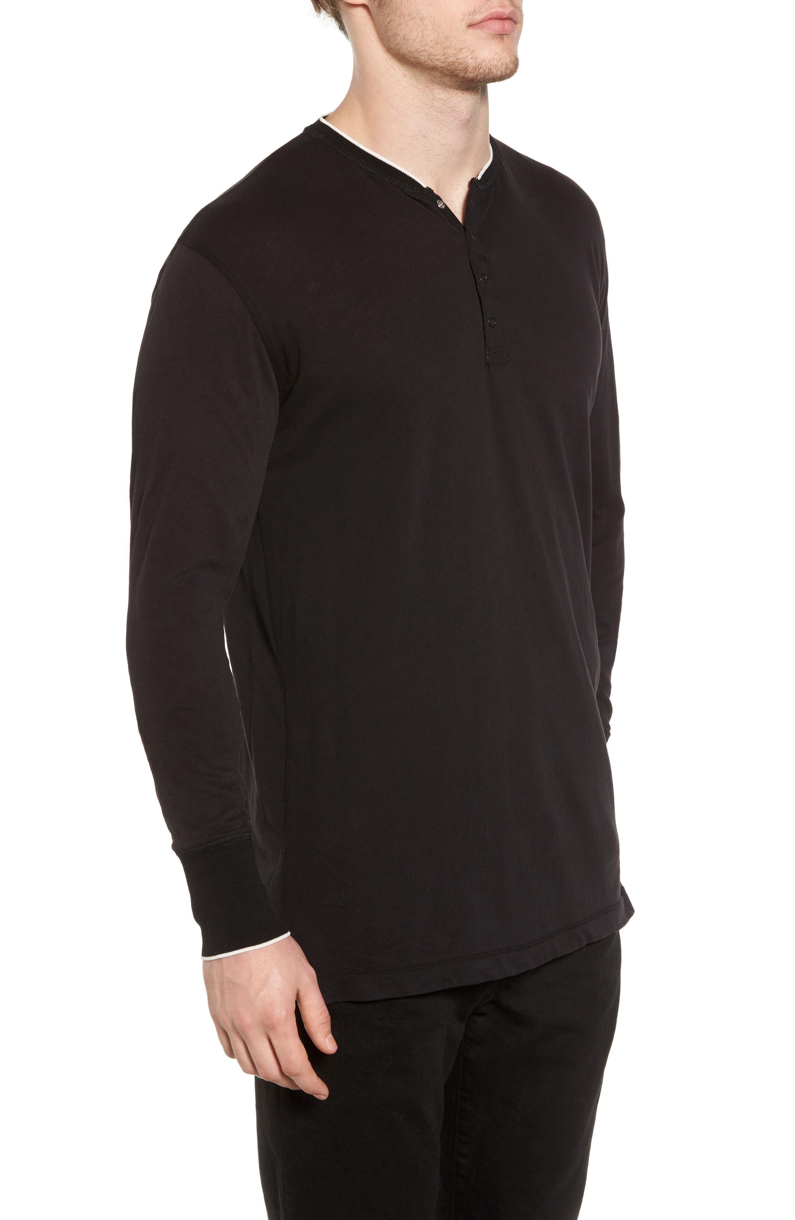 Alternate Image 3  - Scotch & Soda Club Nomade Soft Granddad T-Shirt