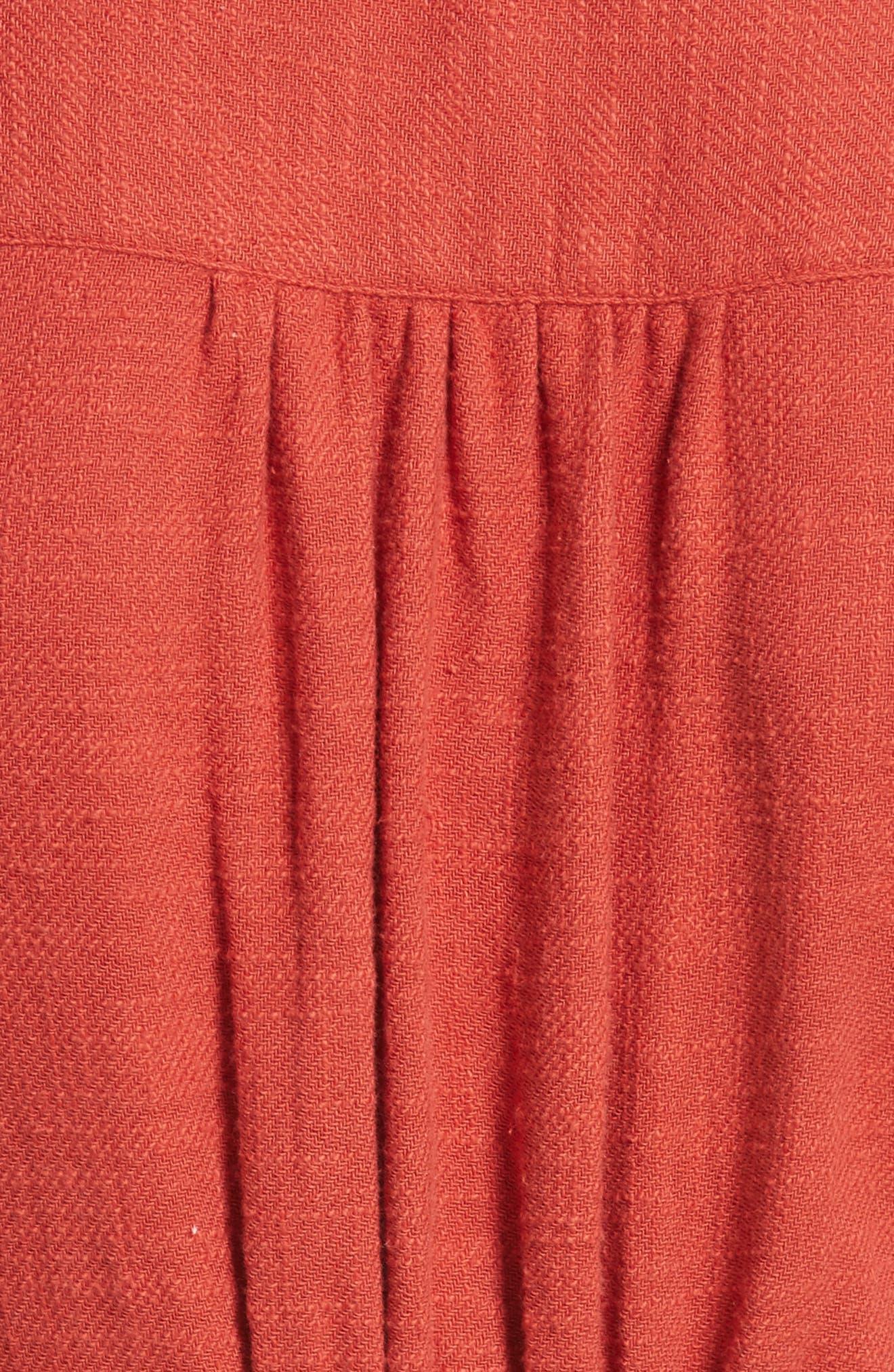 Alternate Image 5  - Free People Love of My Life Midi Dress