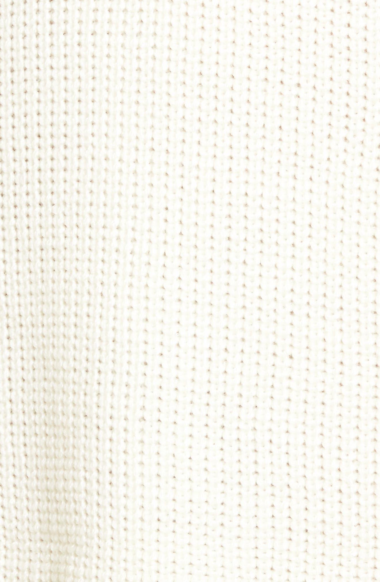 Alternate Image 5  - Cotton Emporium Distressed Sweater Dress