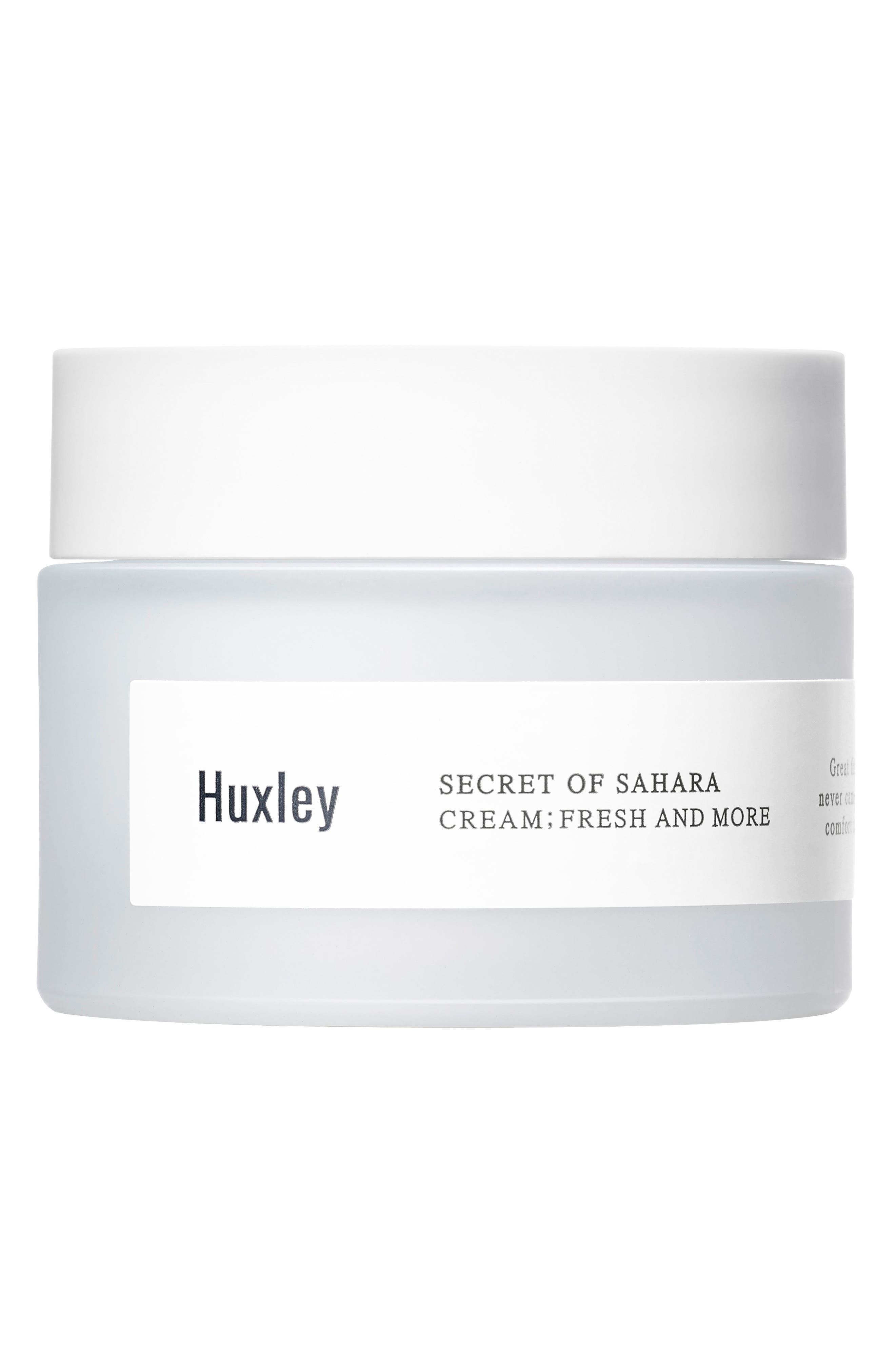 Huxley Secret of Sahara - Fresh & More Moisturizing Cream