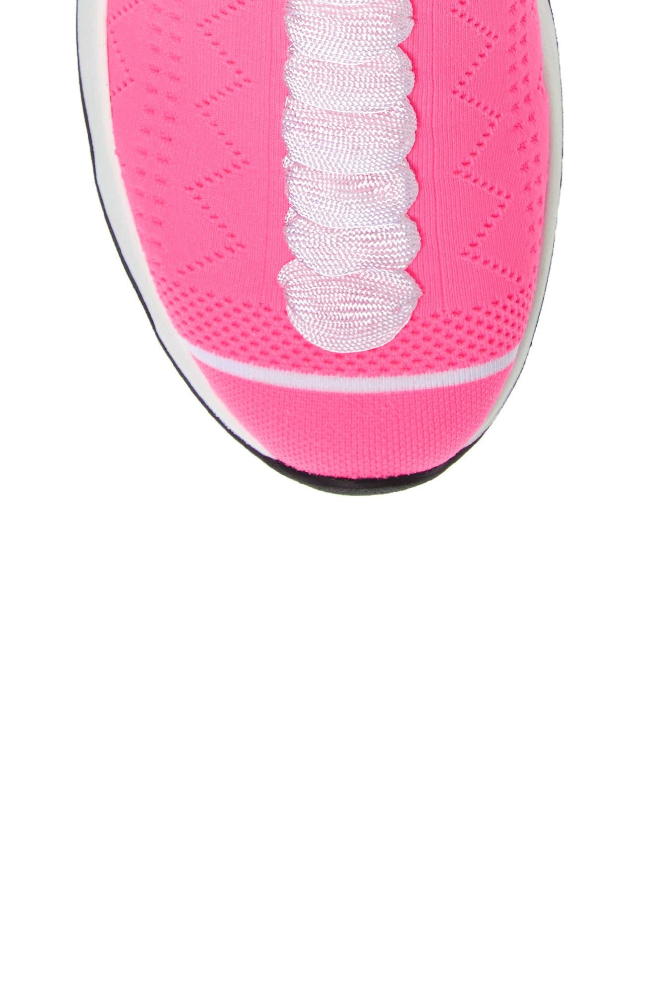 Rocko-Top Sock Sneaker,                             Alternate thumbnail 4, color,                             Pink