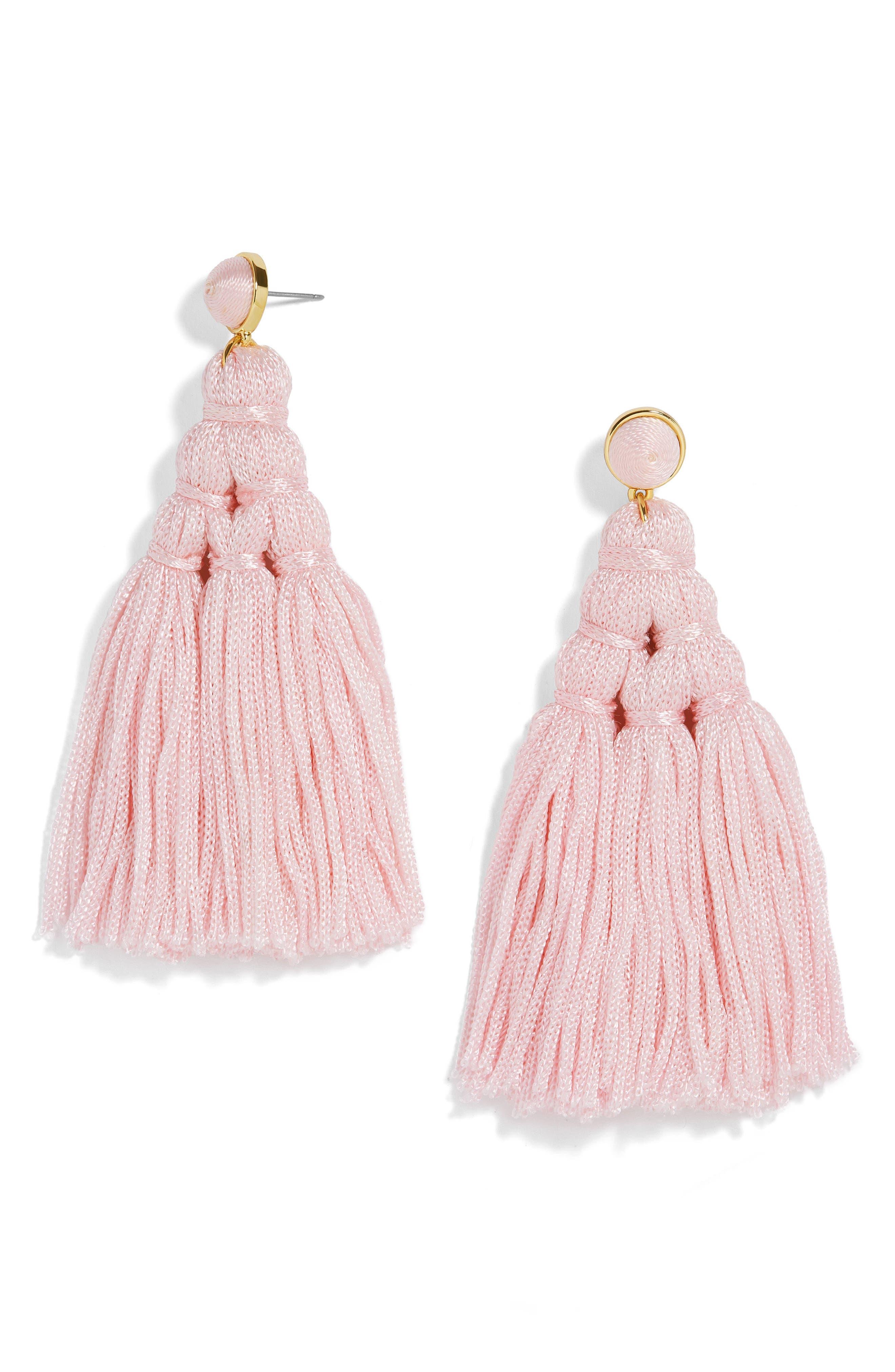 BaubleBar Miana Tassel Drop Earrings
