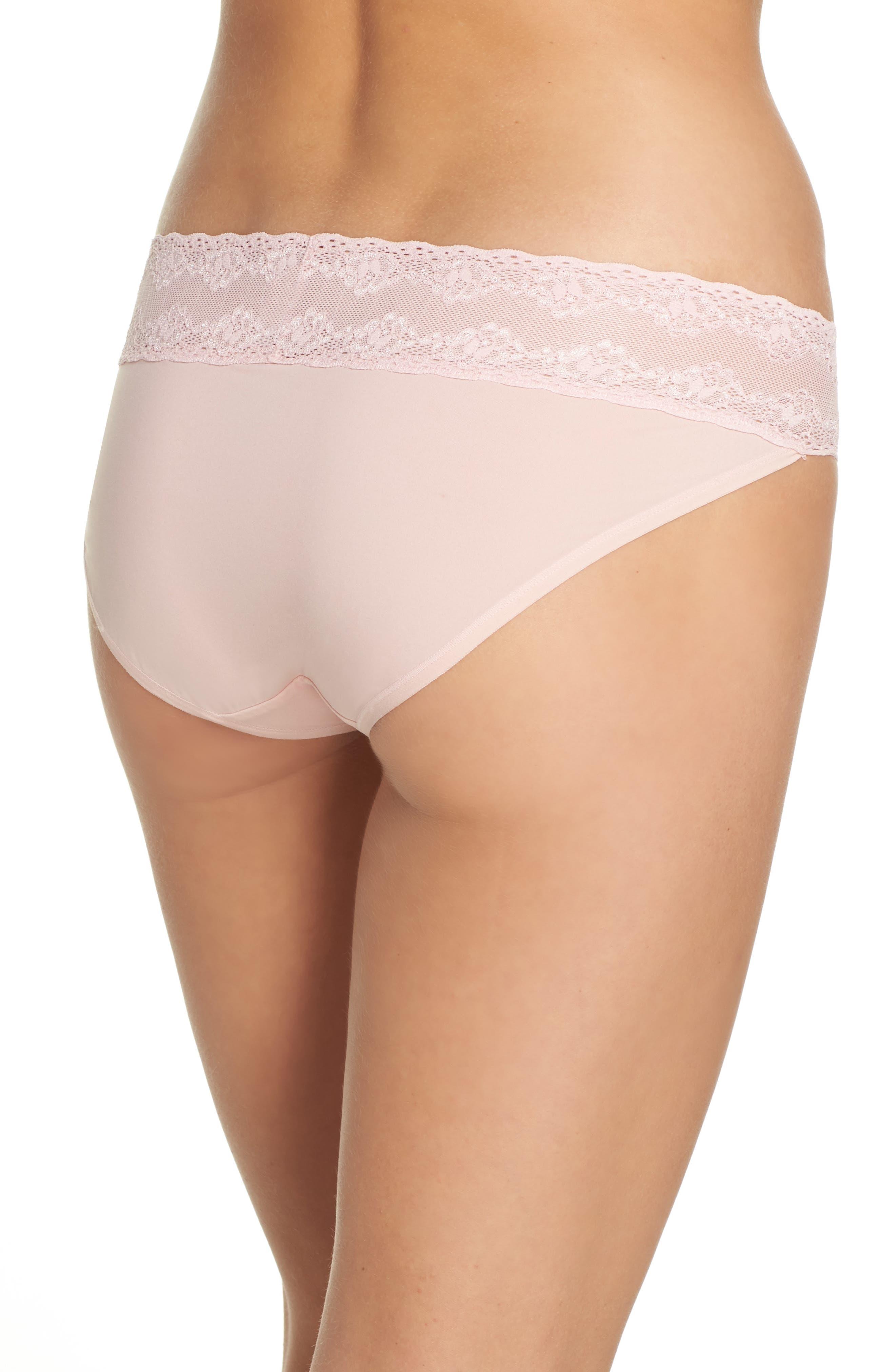 Alternate Image 2  - Natori Bliss Perfection Bikini (3 for $45)