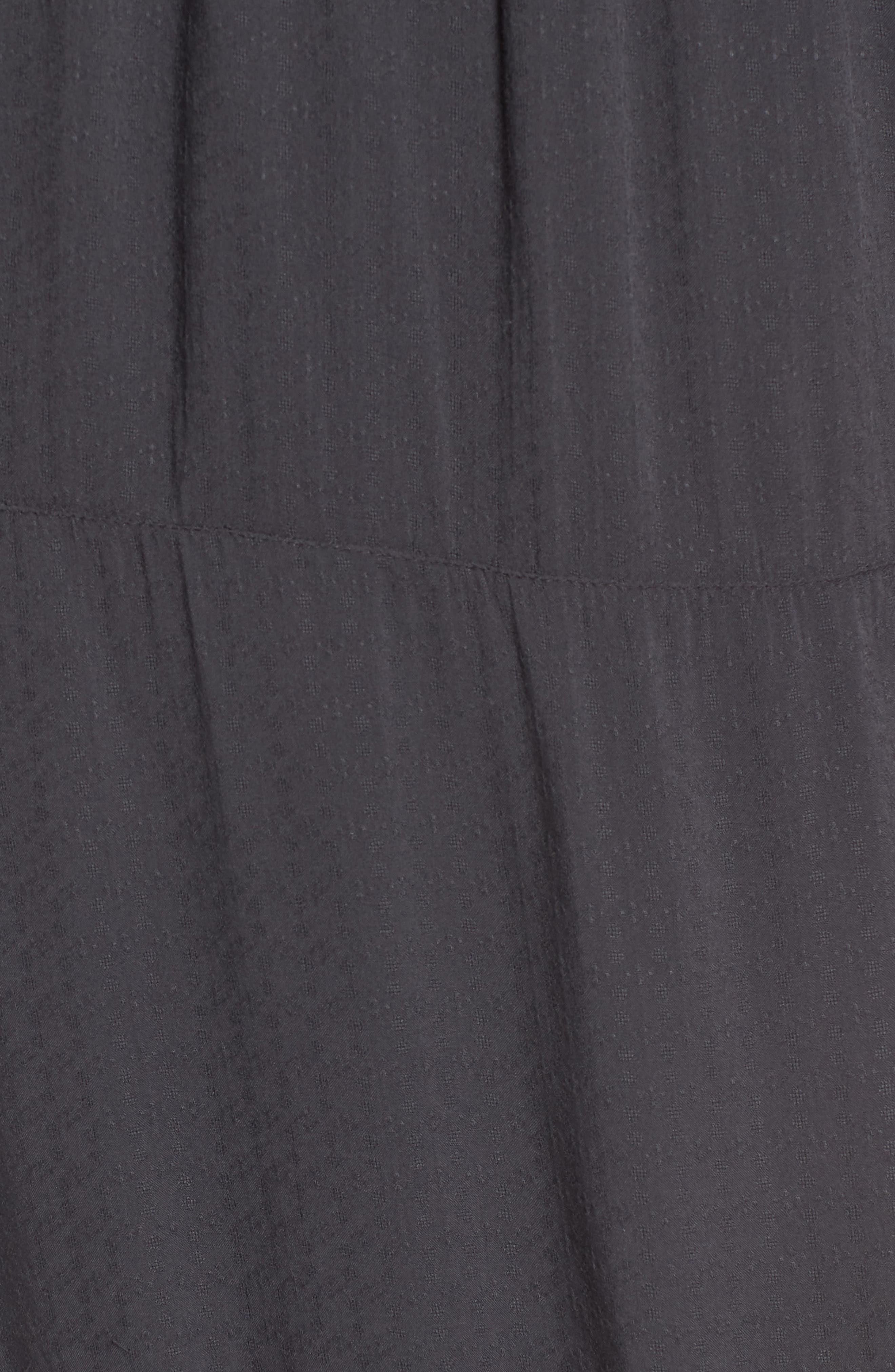 Midi Shirtdress,                             Alternate thumbnail 5, color,                             Indian Ink