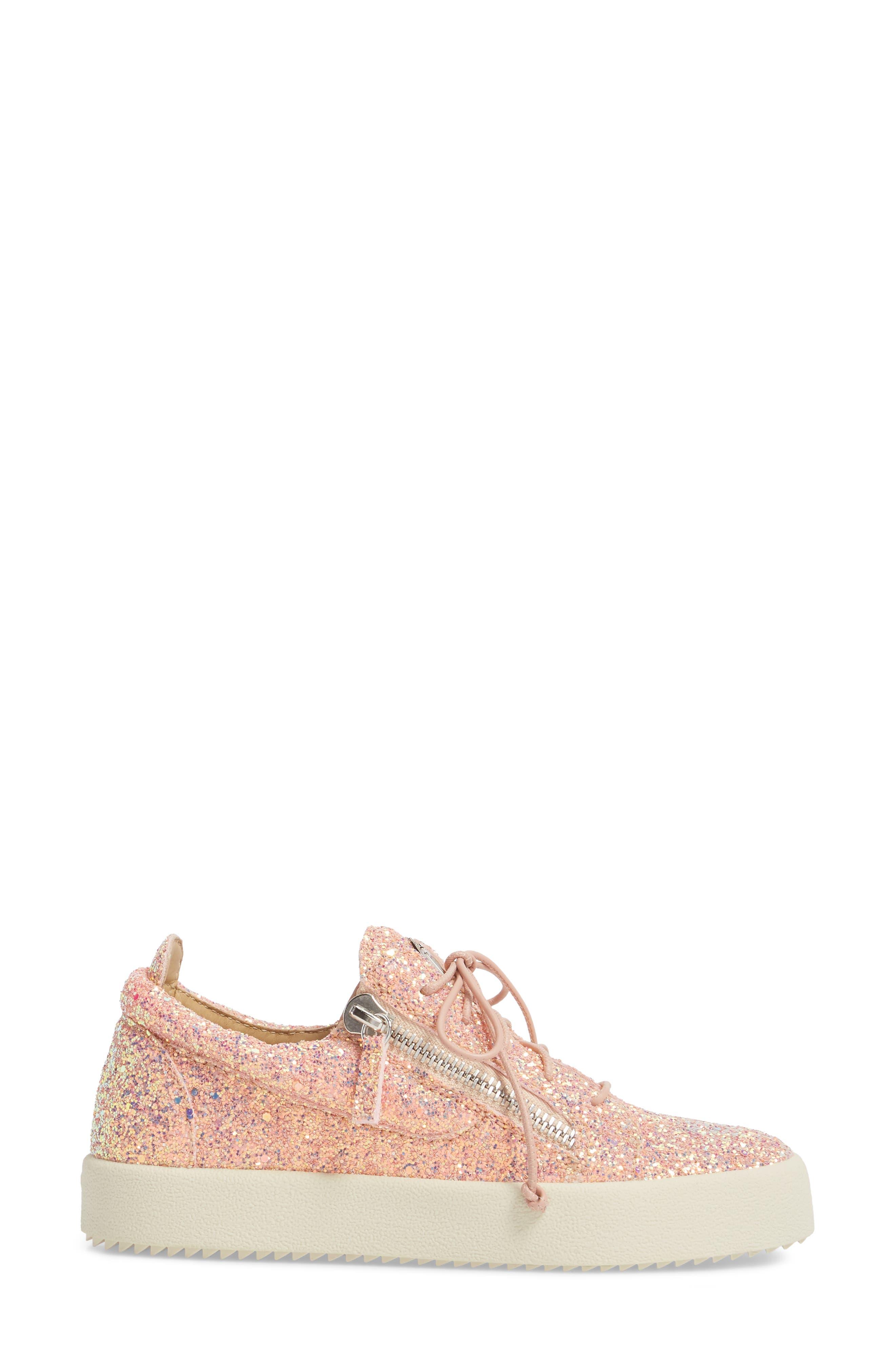 Alternate Image 3  - Giuseppe Zanotti May London Low Top Sneaker (Women)