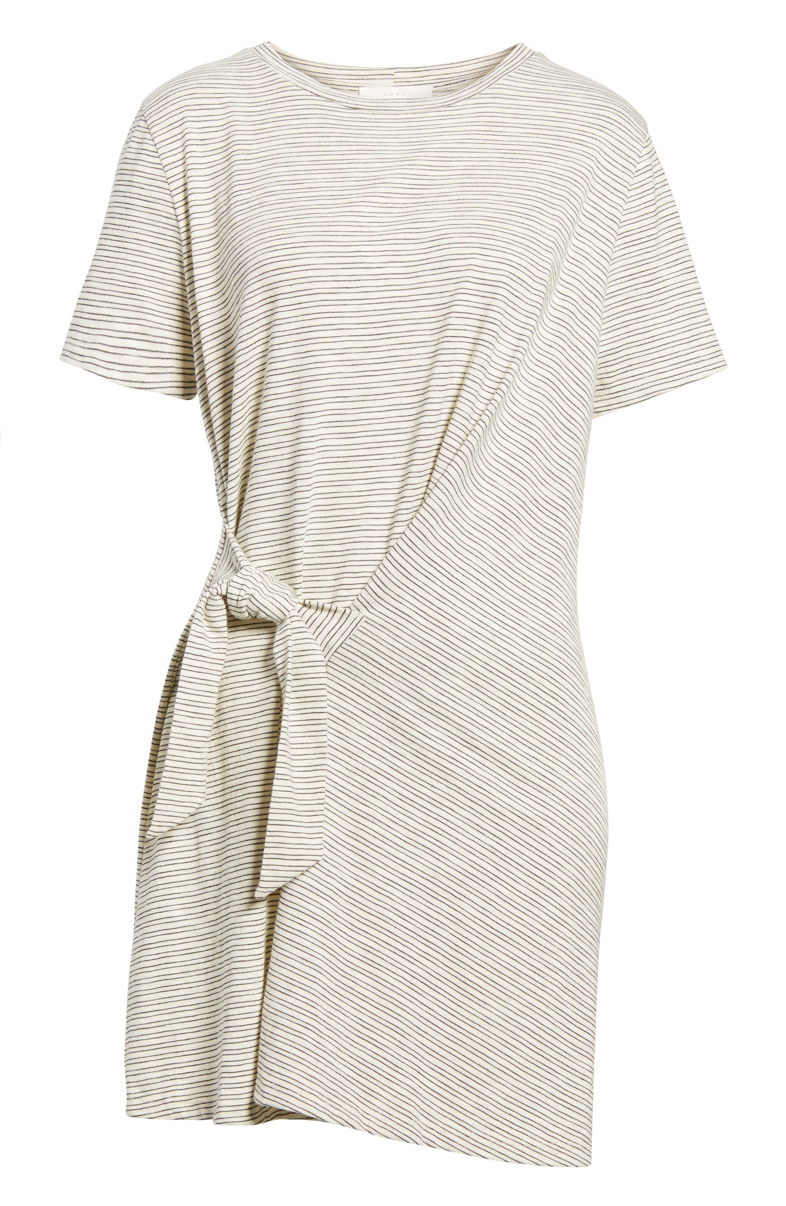 Alternate Image 6  - Side Knot Tee Dress