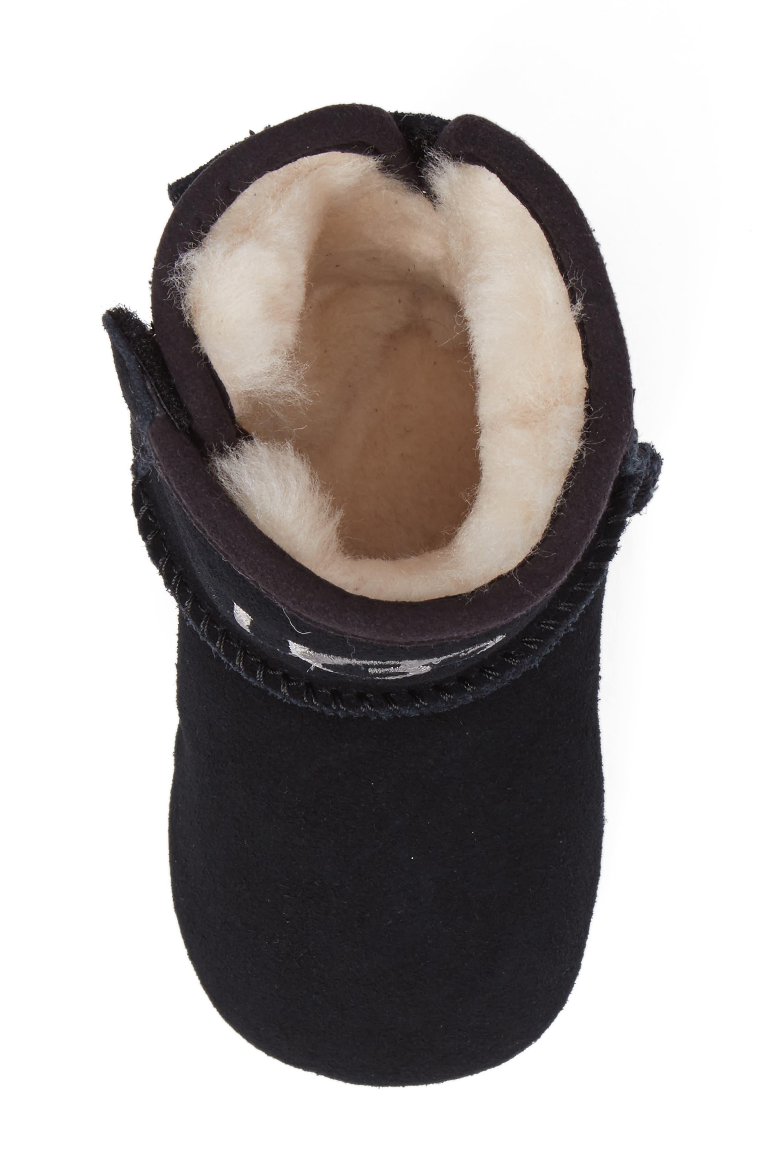 Alternate Image 5  - UGG® Jesse II Bow Boot (Baby & Walker)