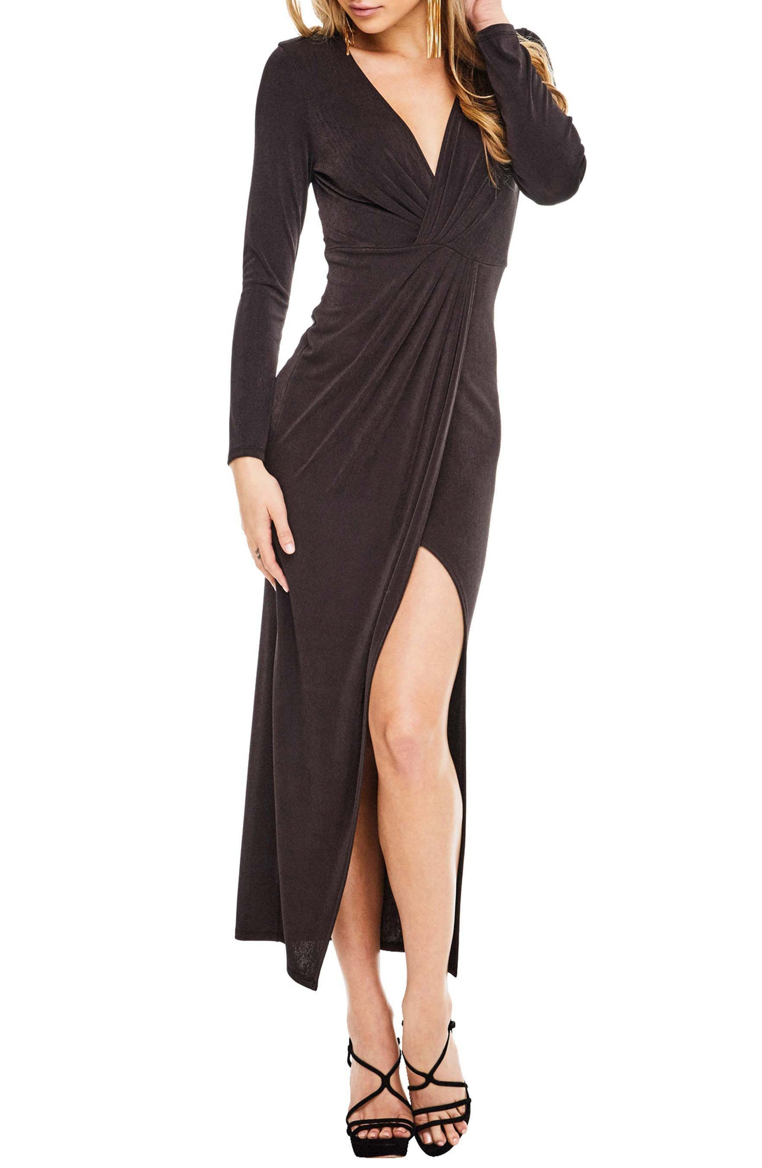 ASTR the Label Valerie Faux Wrap Dress