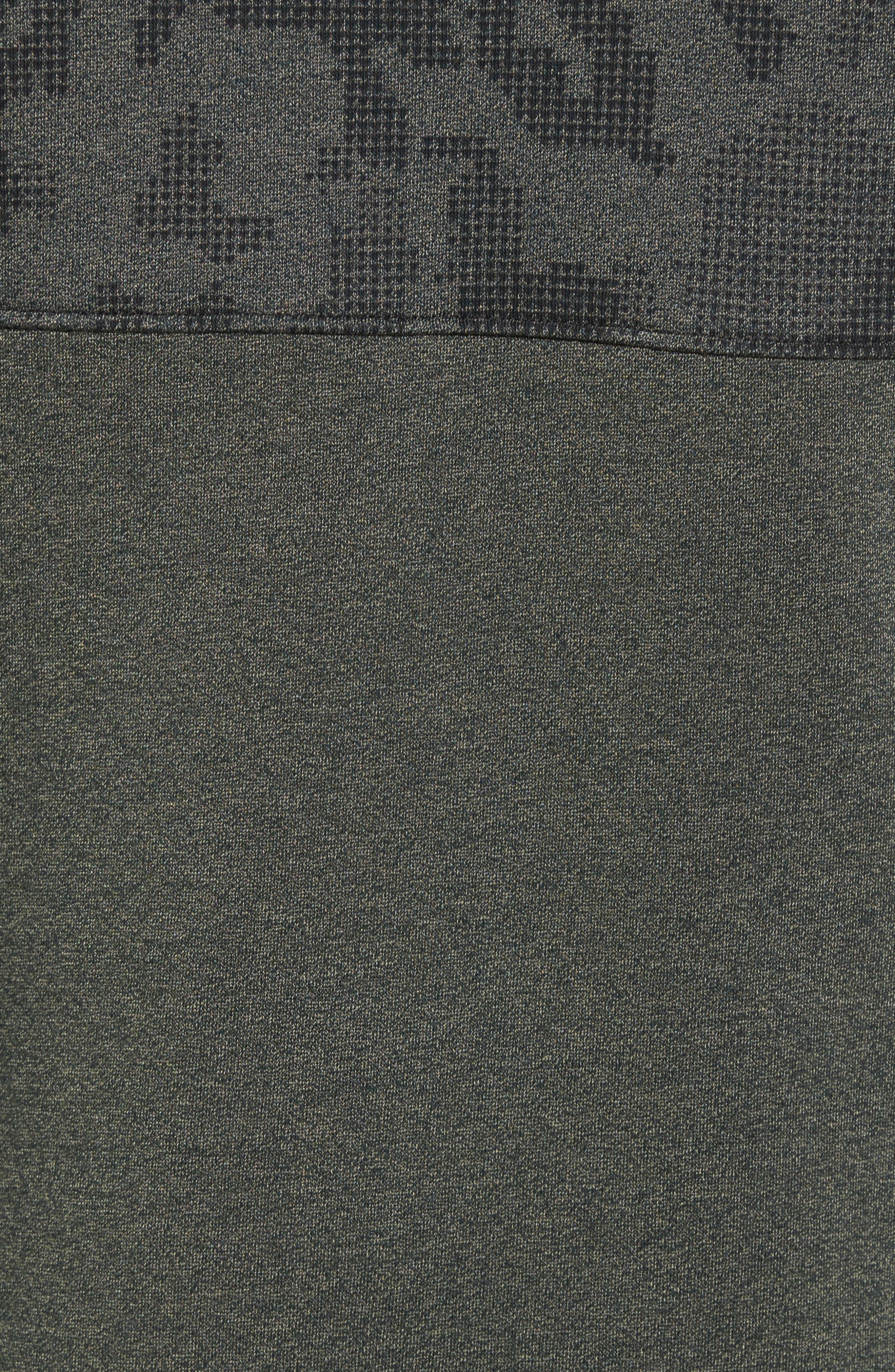 Threadborne Hooded Vest,                             Alternate thumbnail 5, color,                             Downtown Green / Refletive