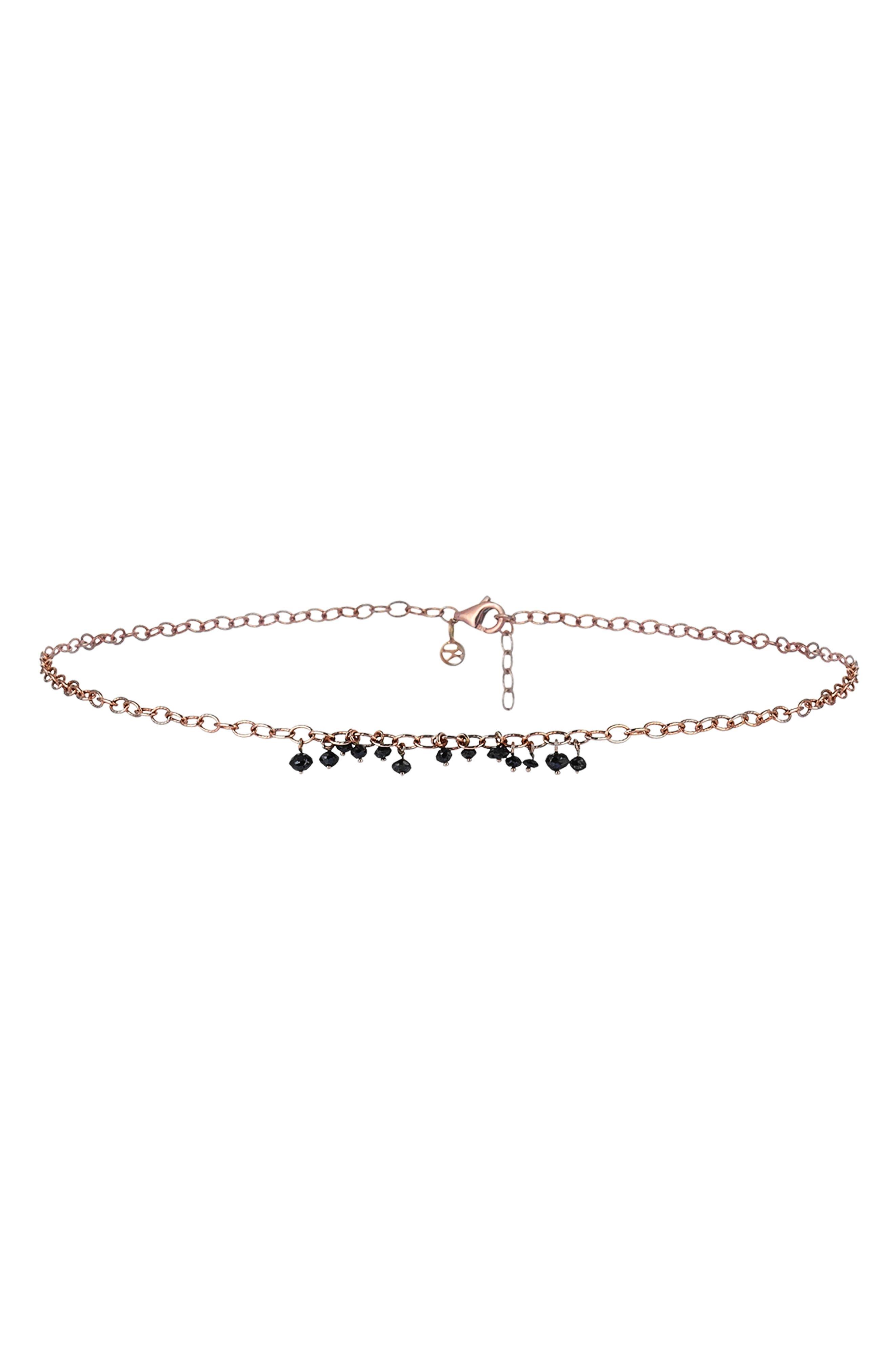 Alternate Image 3  - Kismet by Milka Black Diamond Pendant Necklace