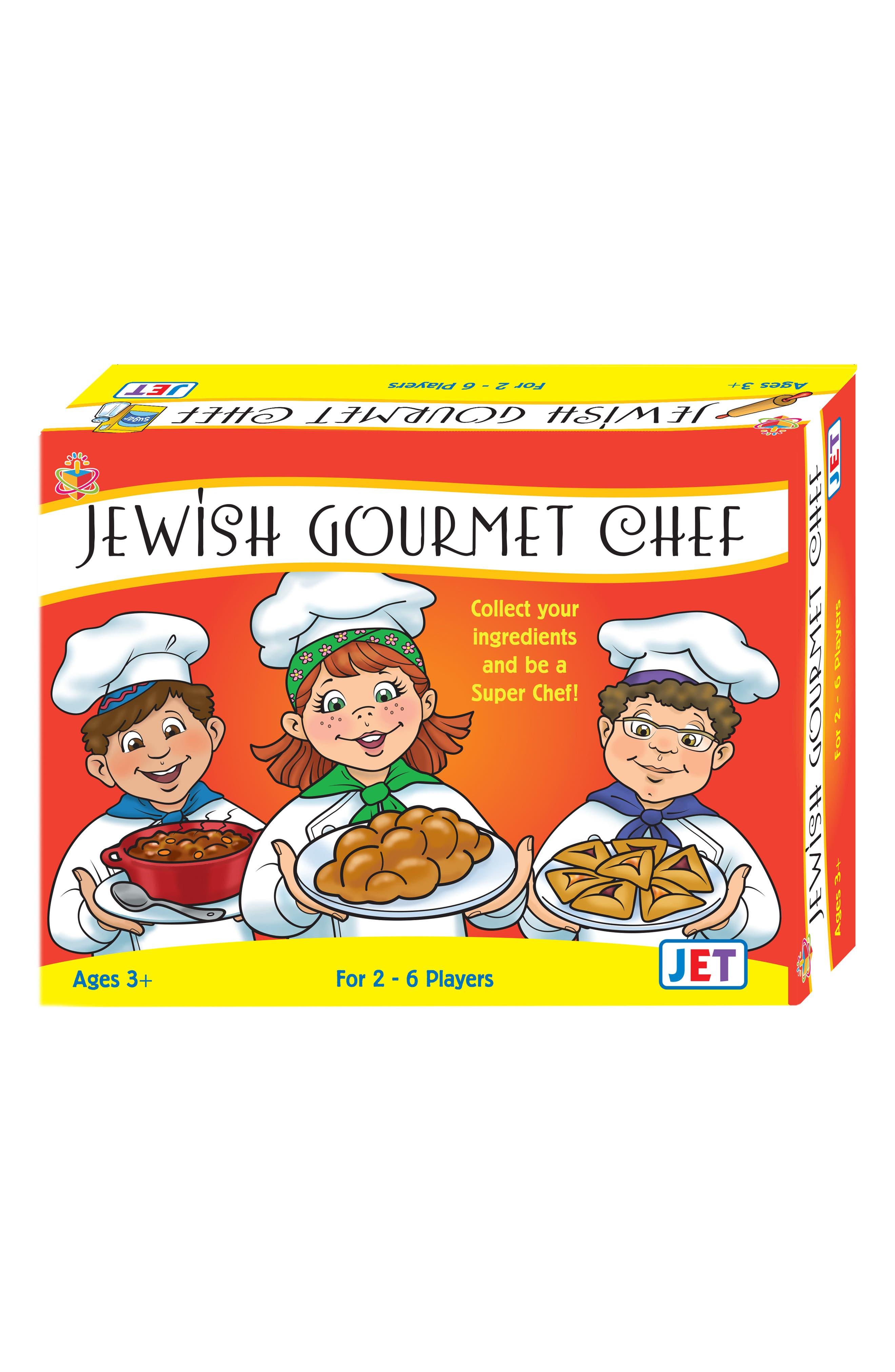 Jewish Educational Toys Jewish Gourmet Chef Board Game