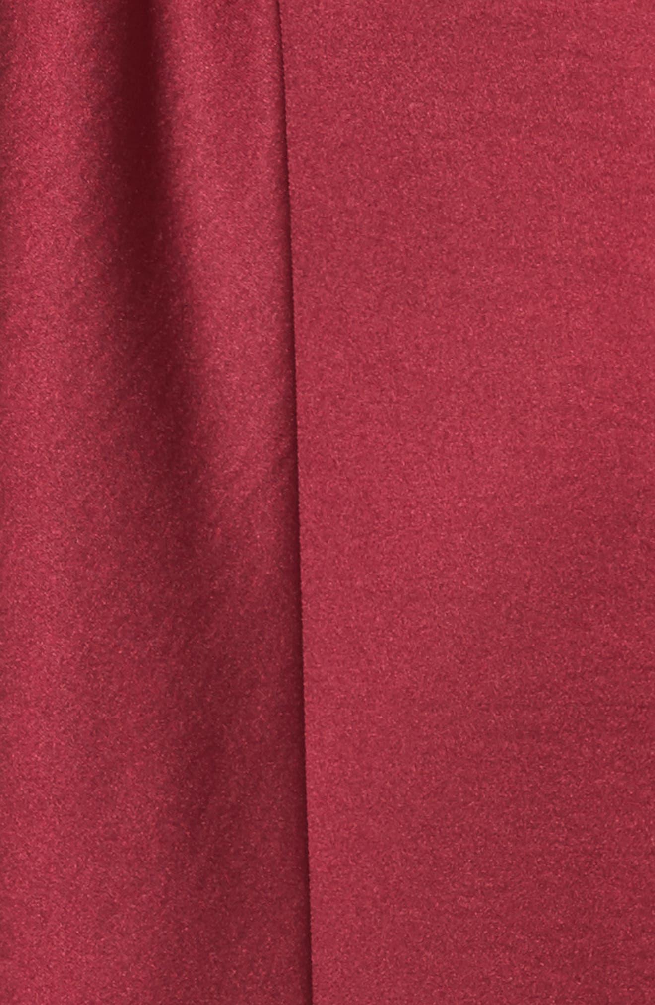 Strappy Satin Jumpsuit,                             Alternate thumbnail 6, color,                             Fuchsia