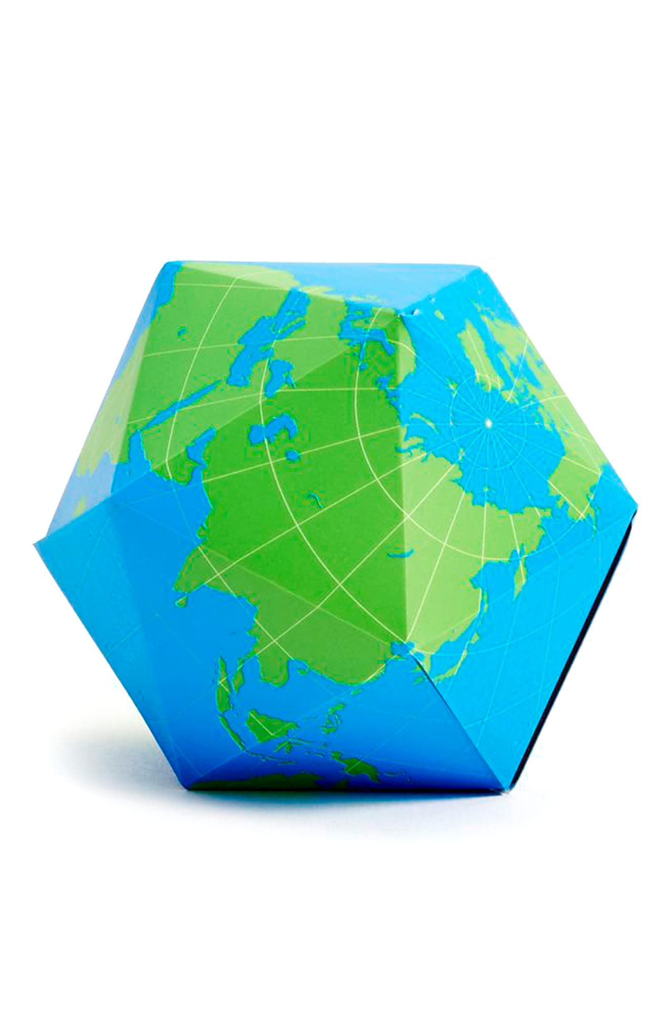 Areaware Dymaxion Magnetic Folding Geometric Globe