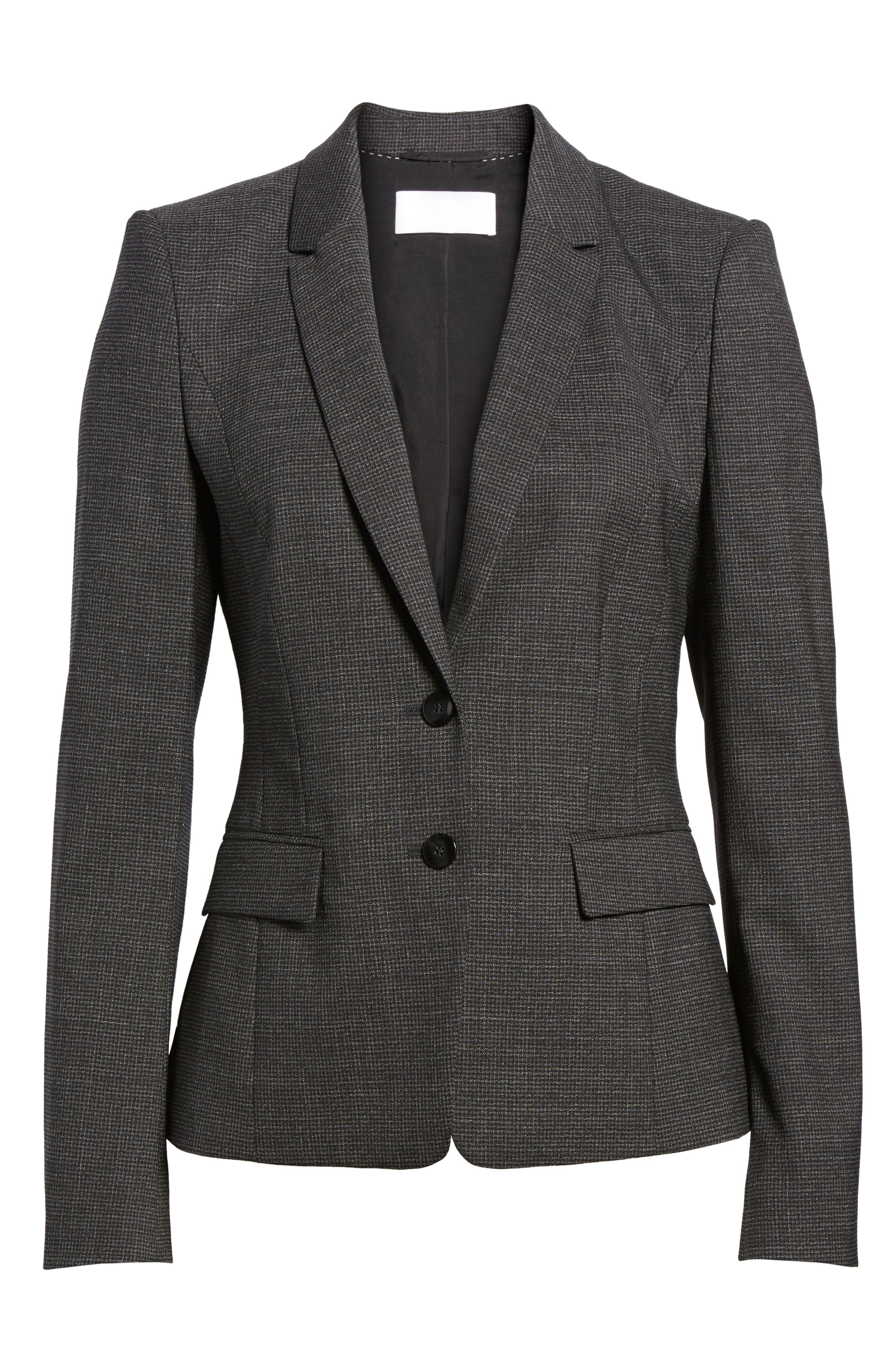 Alternate Image 6  - BOSS Jewisa Wool Jacket