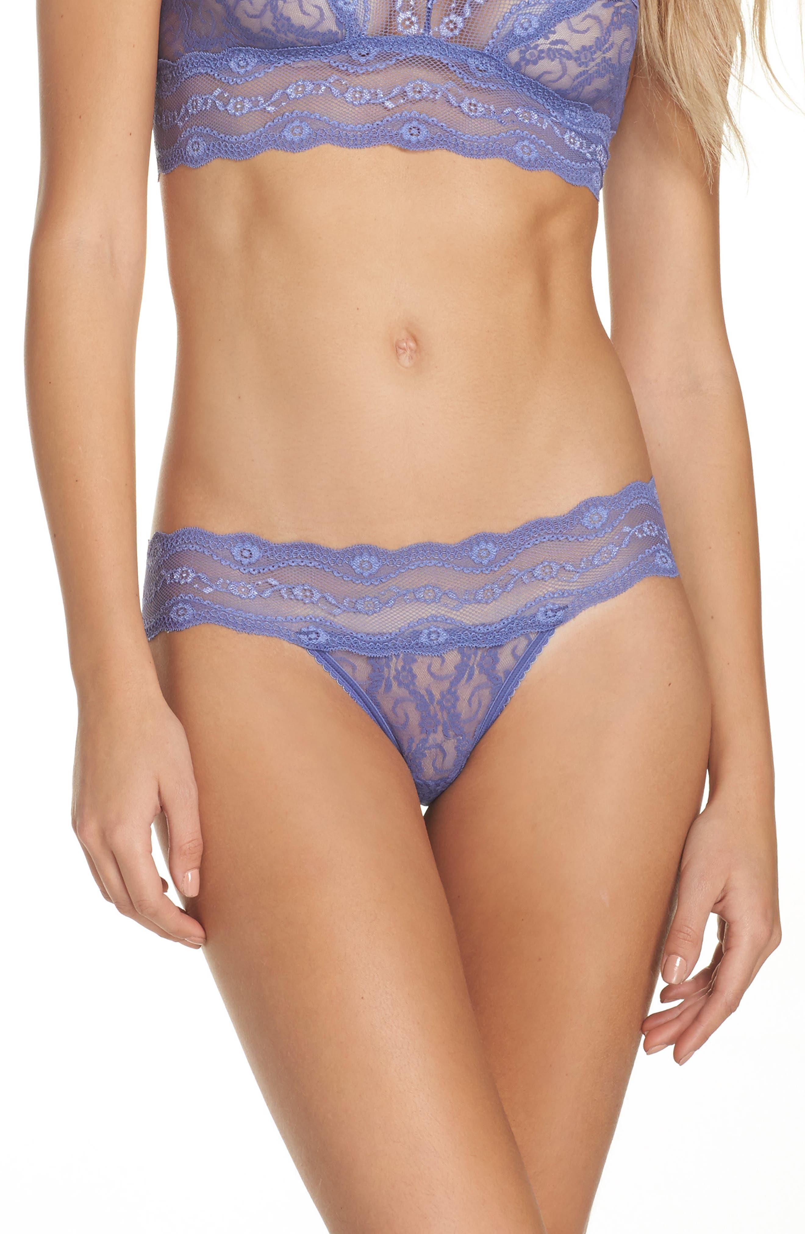 Alternate Image 1 Selected - b.tempt'd by Wacoal 'Lace Kiss' Bikini (3 for $33)