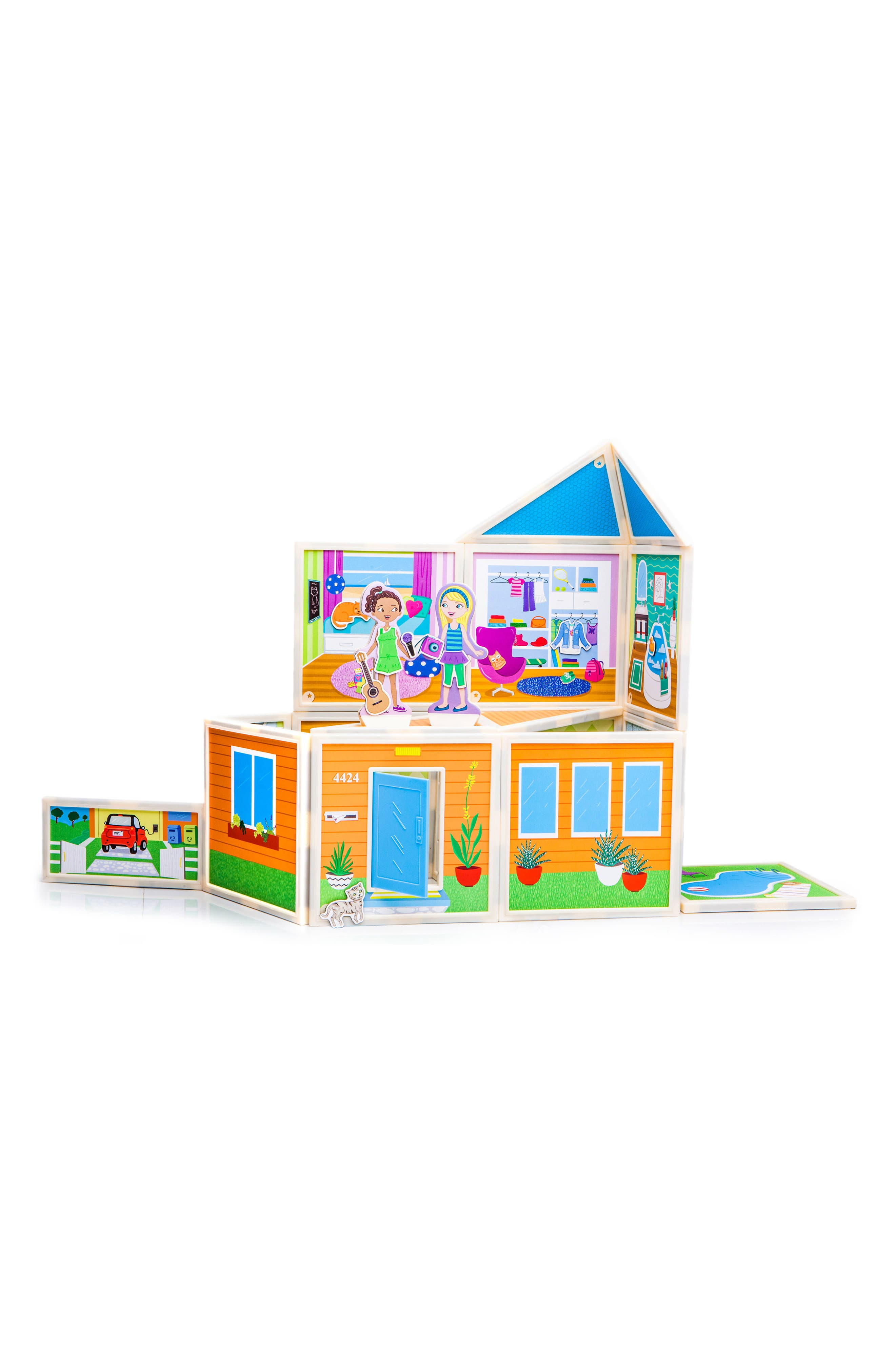 Alternate Image 5  - Build and Imagine Malia's House 61-Piece Magnetic Dollhouse