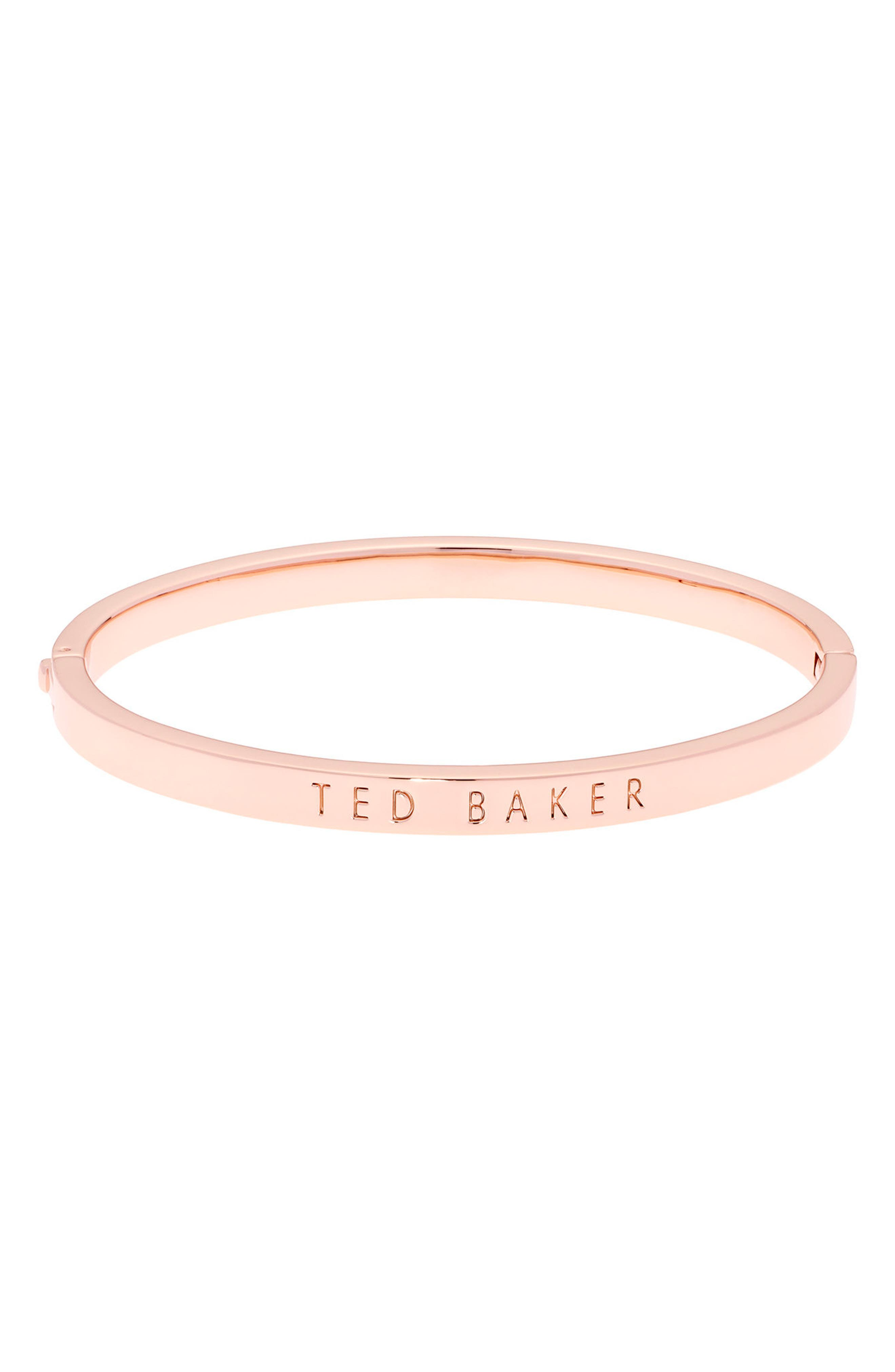 Ted Baker London Metallic Hinge Bangle Bracelet