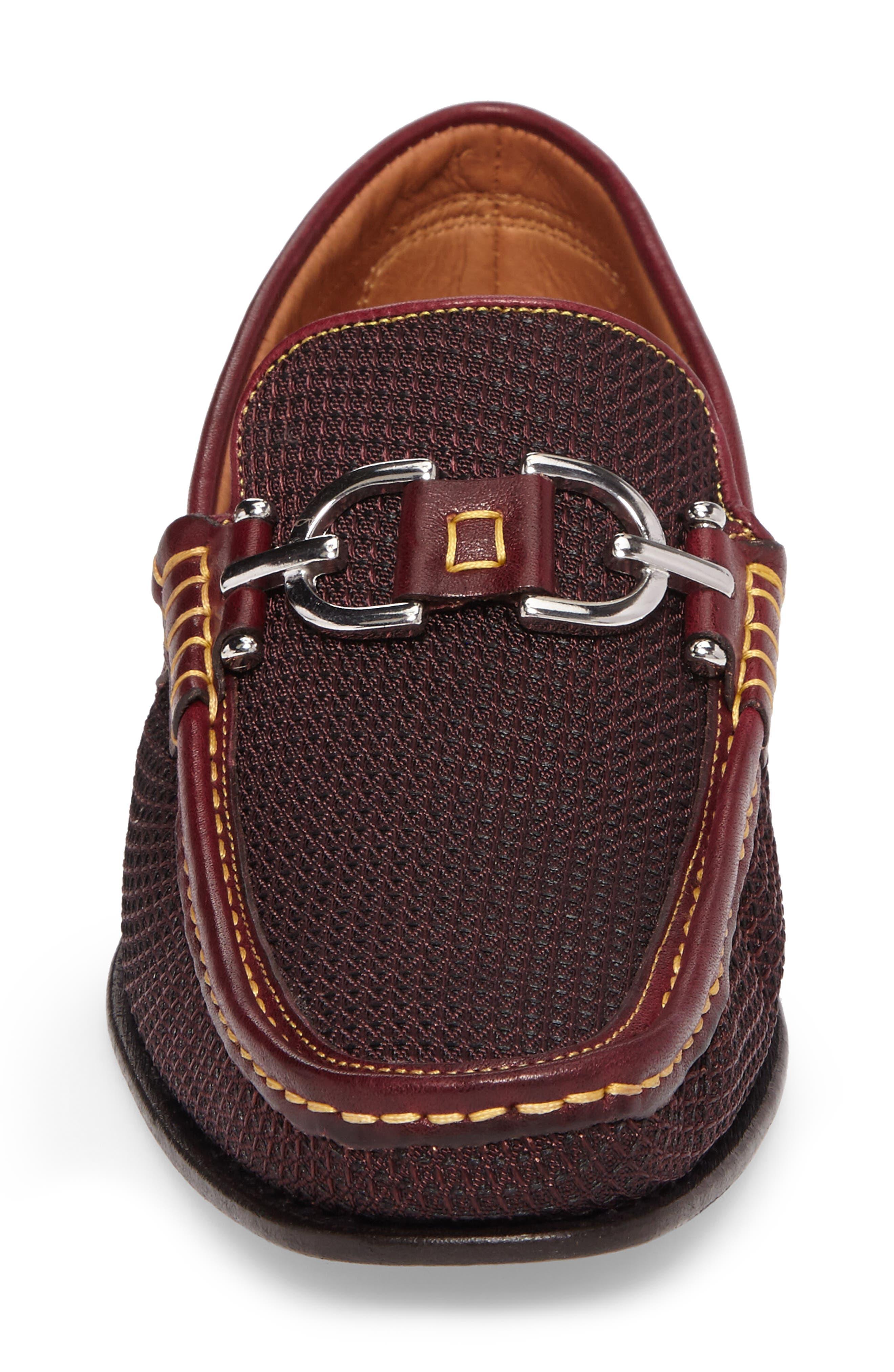 Dacio II Loafer,                             Alternate thumbnail 4, color,                             Bordeaux