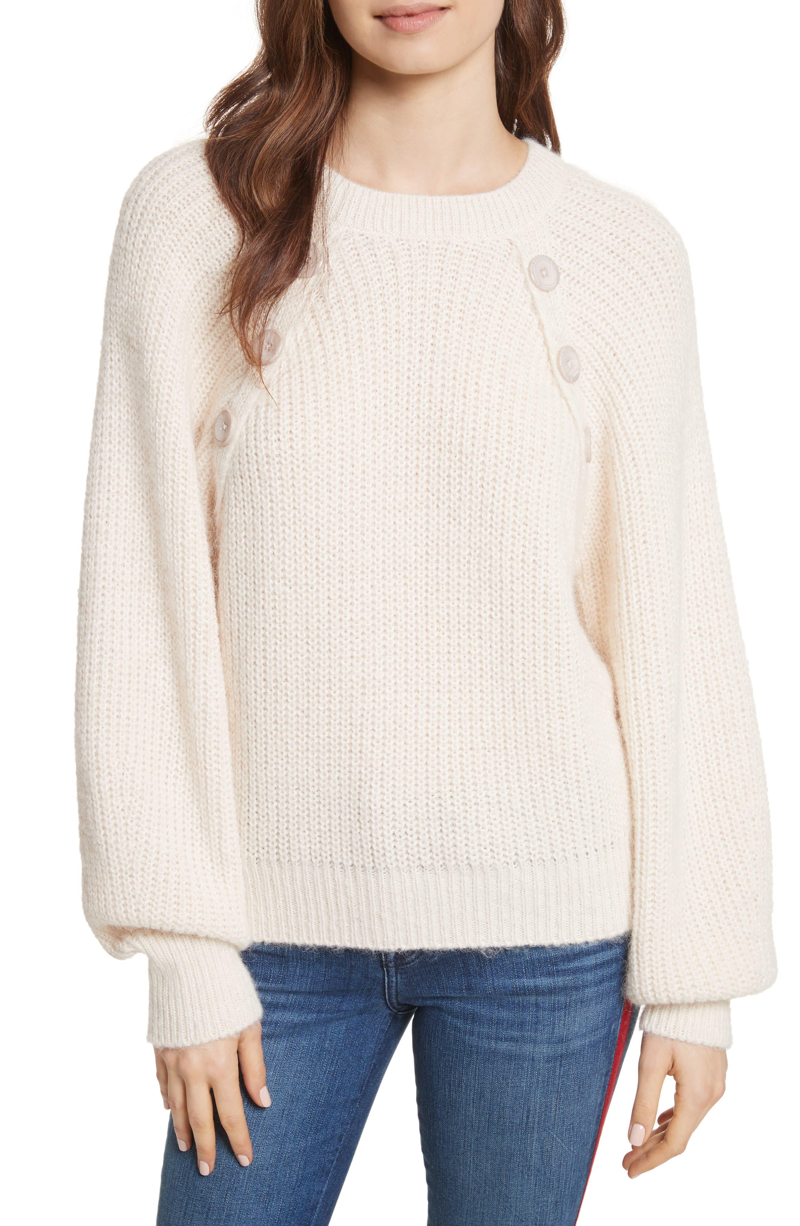 Aine Sweater,                         Main,                         color, Porcelain
