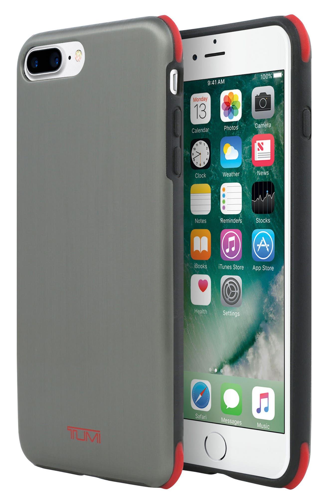 Regular Protection iPhone 8 Plus Case,                             Alternate thumbnail 2, color,                             Brushed Gunmetal