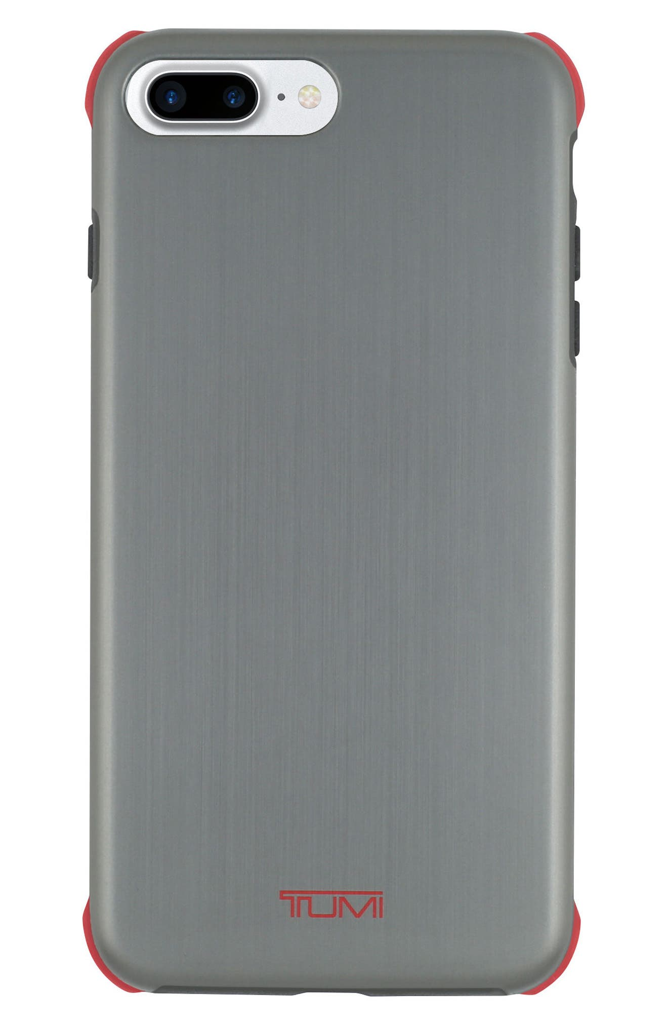 Regular Protection iPhone 8 Plus Case,                             Main thumbnail 1, color,                             Brushed Gunmetal