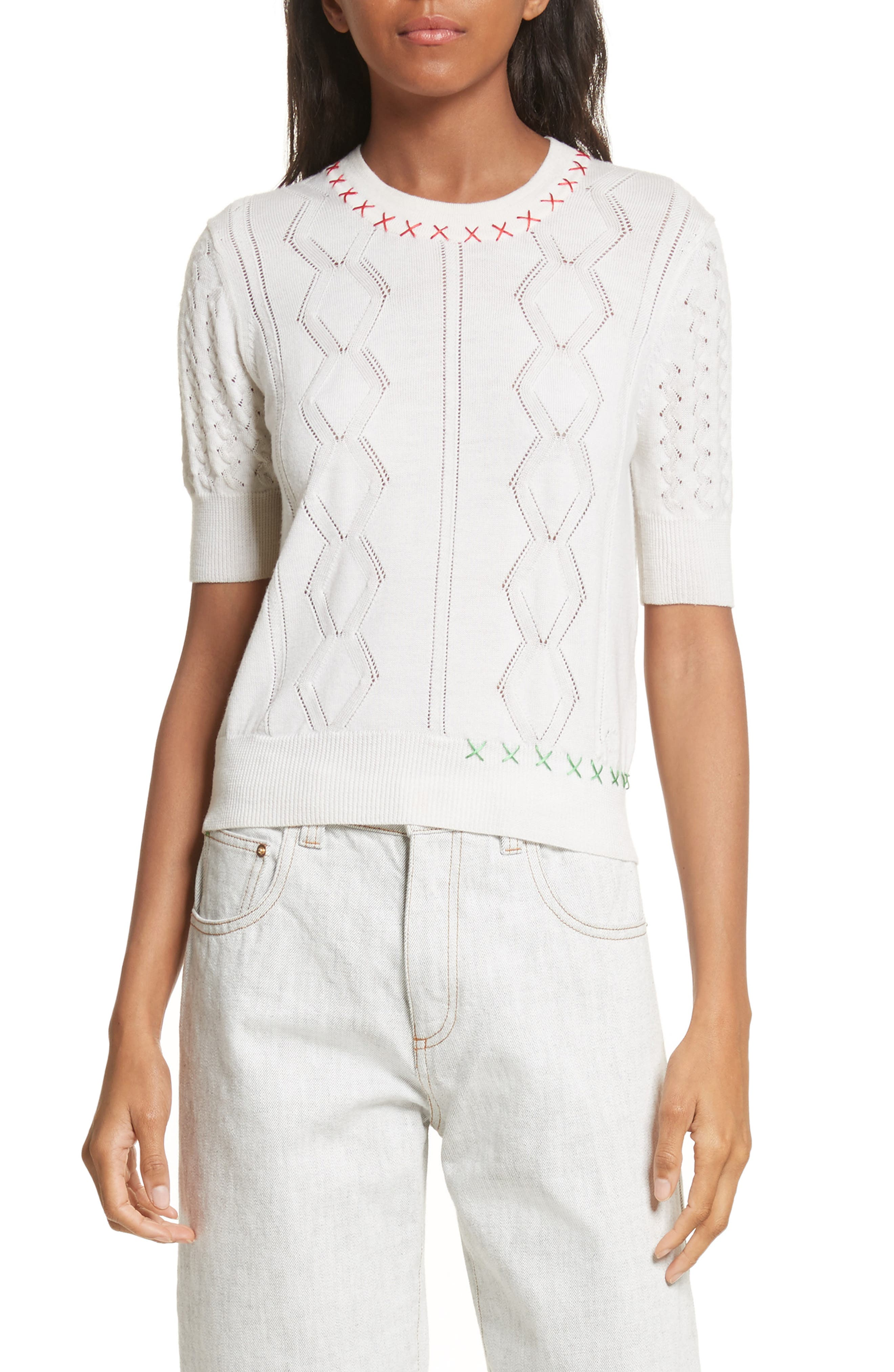 Main Image - Carven Wool Sweater