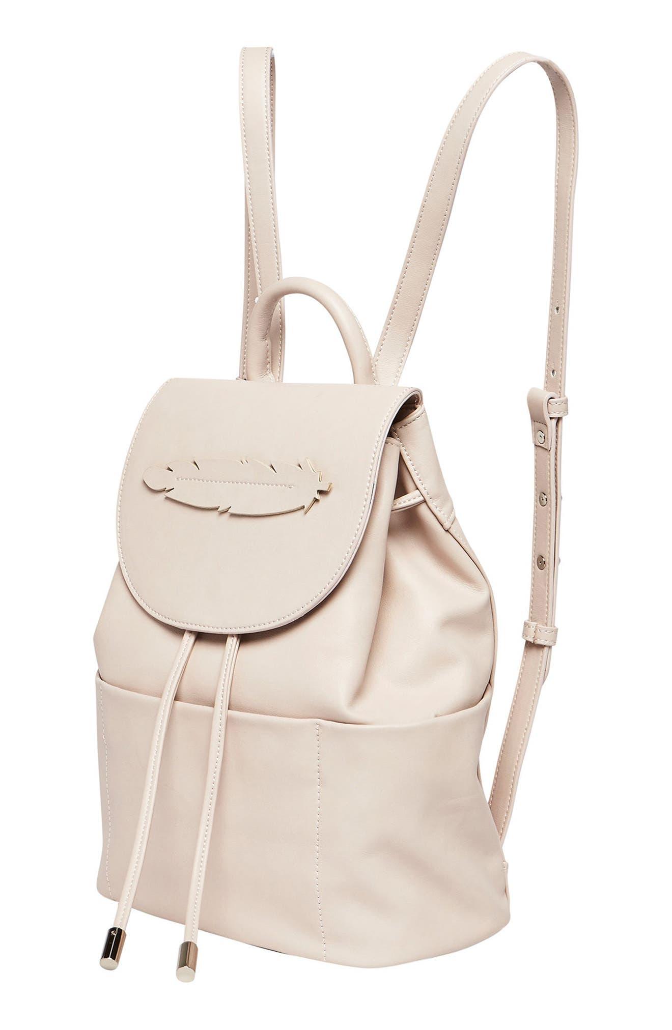 Alternate Image 4  - Urban Originals Dream Girl Vegan Leather Backpack