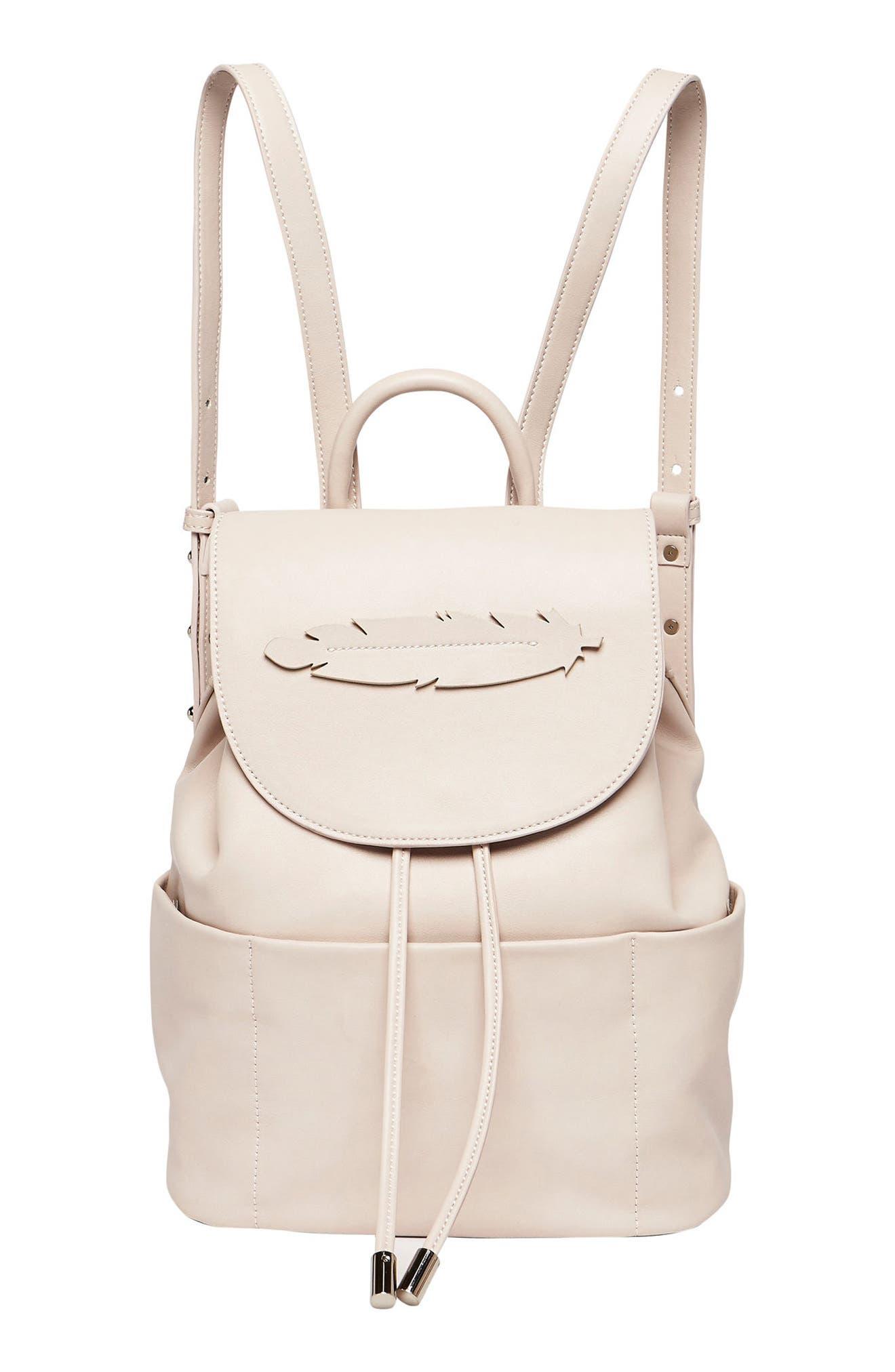 Alternate Image 1 Selected - Urban Originals Dream Girl Vegan Leather Backpack