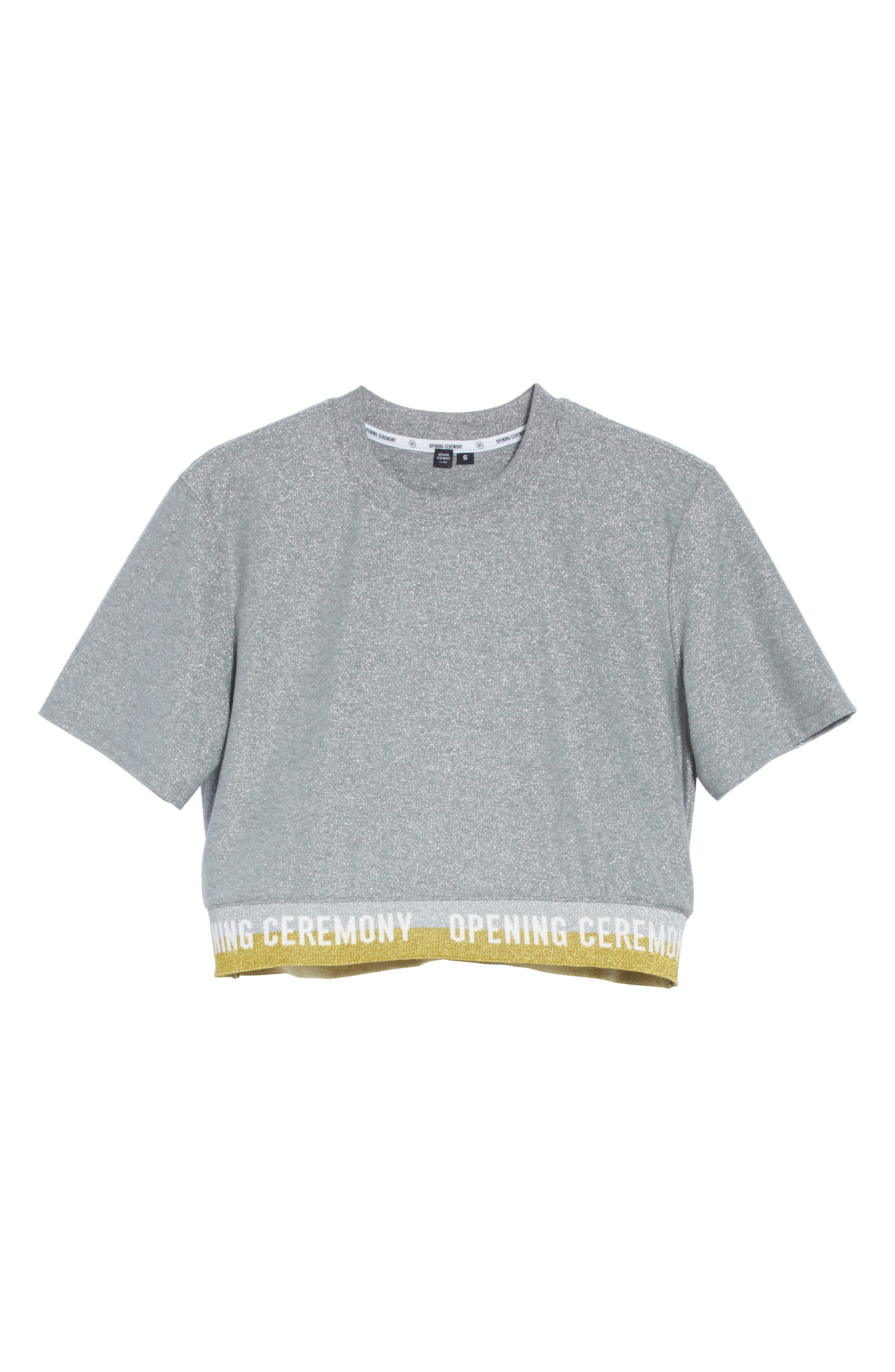 Alternate Image 7  - Opening Ceremony Elastic Logo Crop Tee (Limited Edition)