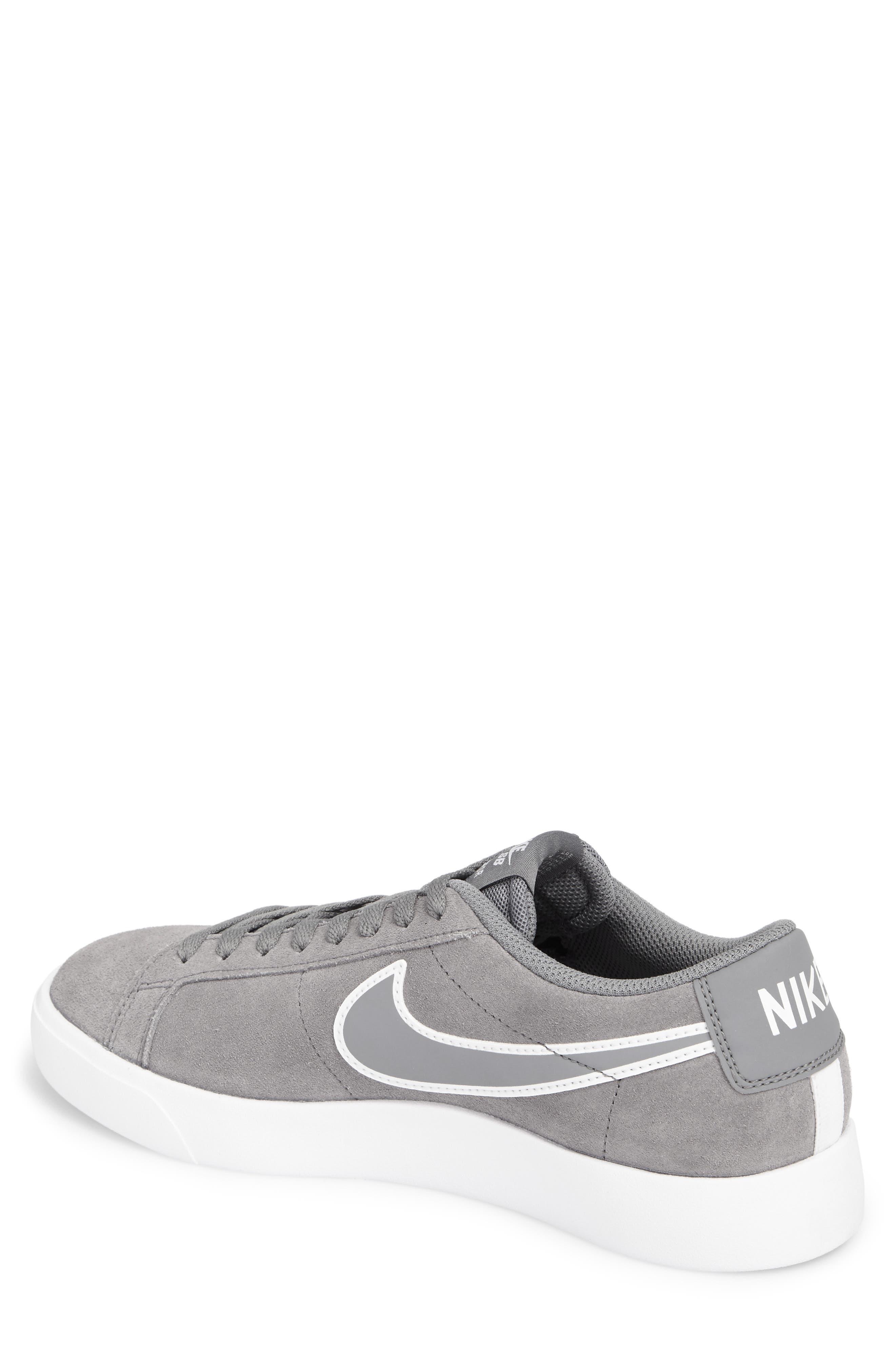 SB Blazer Vapor Skateboarding Sneaker,                             Alternate thumbnail 2, color,                             Cool Grey/Cool Grey/White