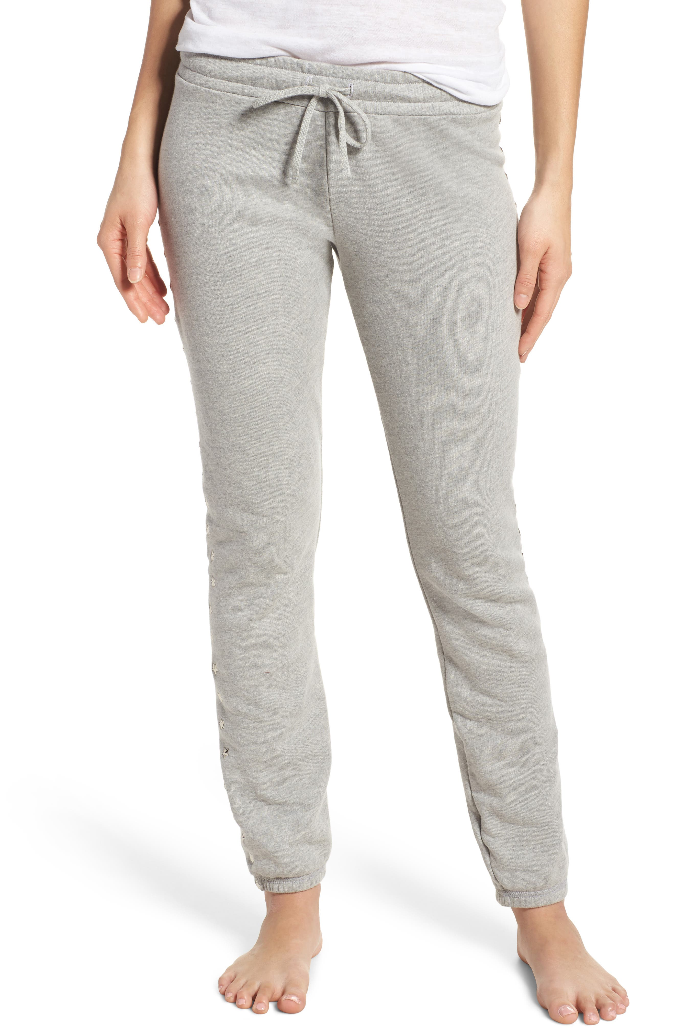 Campbell Vintage Lounge Pants,                         Main,                         color, Heather Grey
