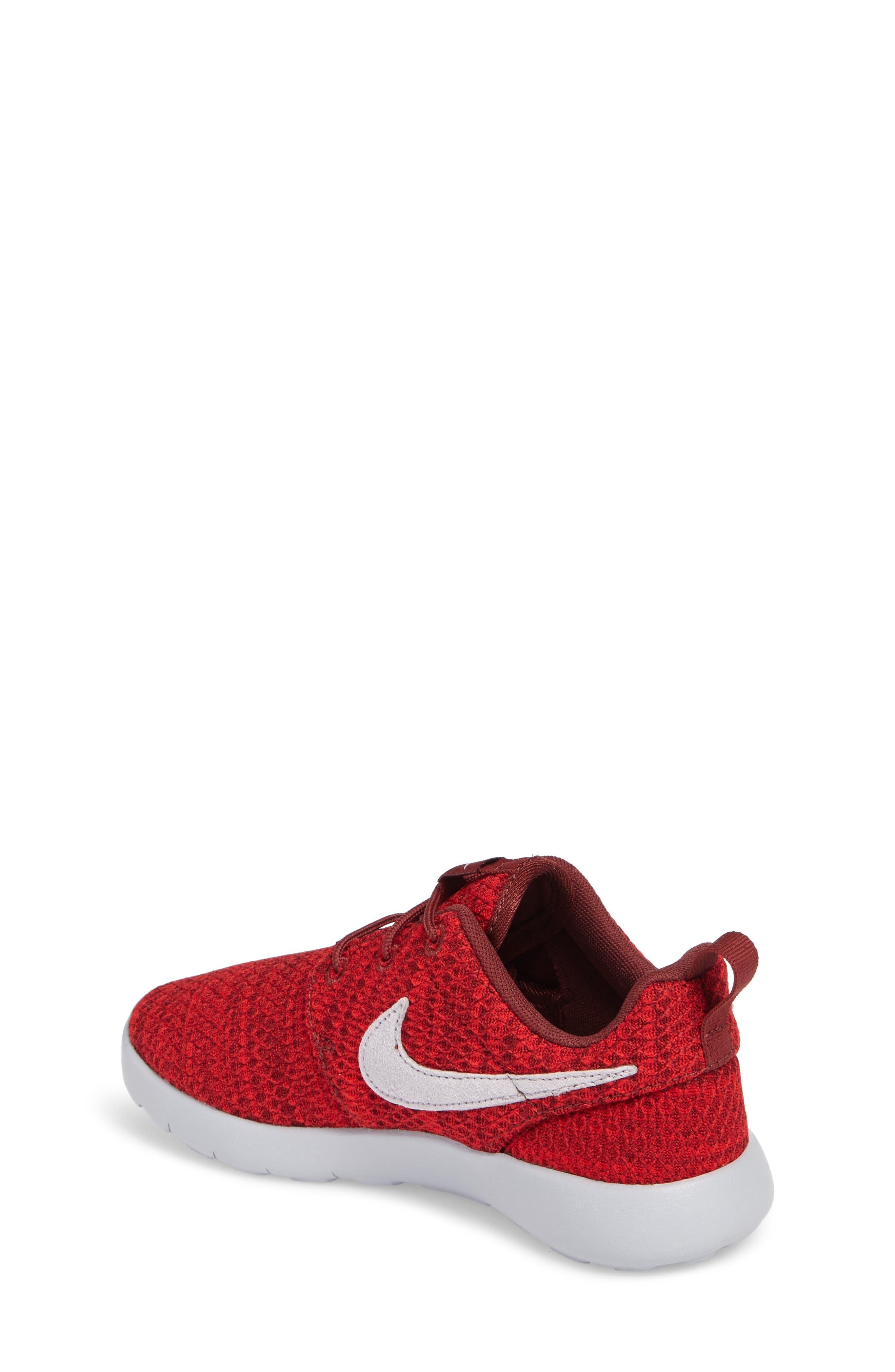 Alternate Image 2  - Nike Roshe Run Sneaker (Toddler & Little Kid)