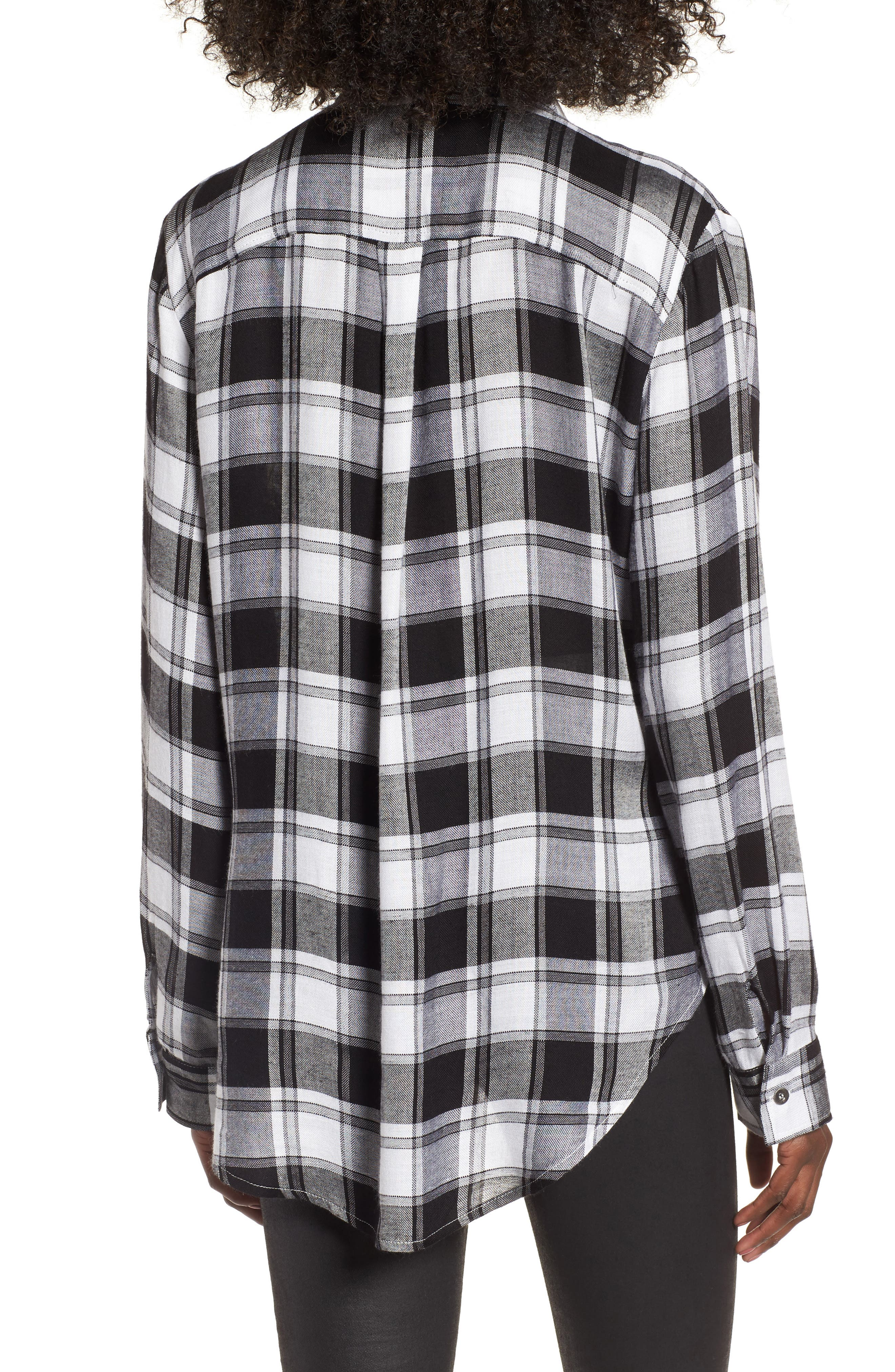 Alternate Image 3  - Lira Clothing Anarchy Plaid Shirt
