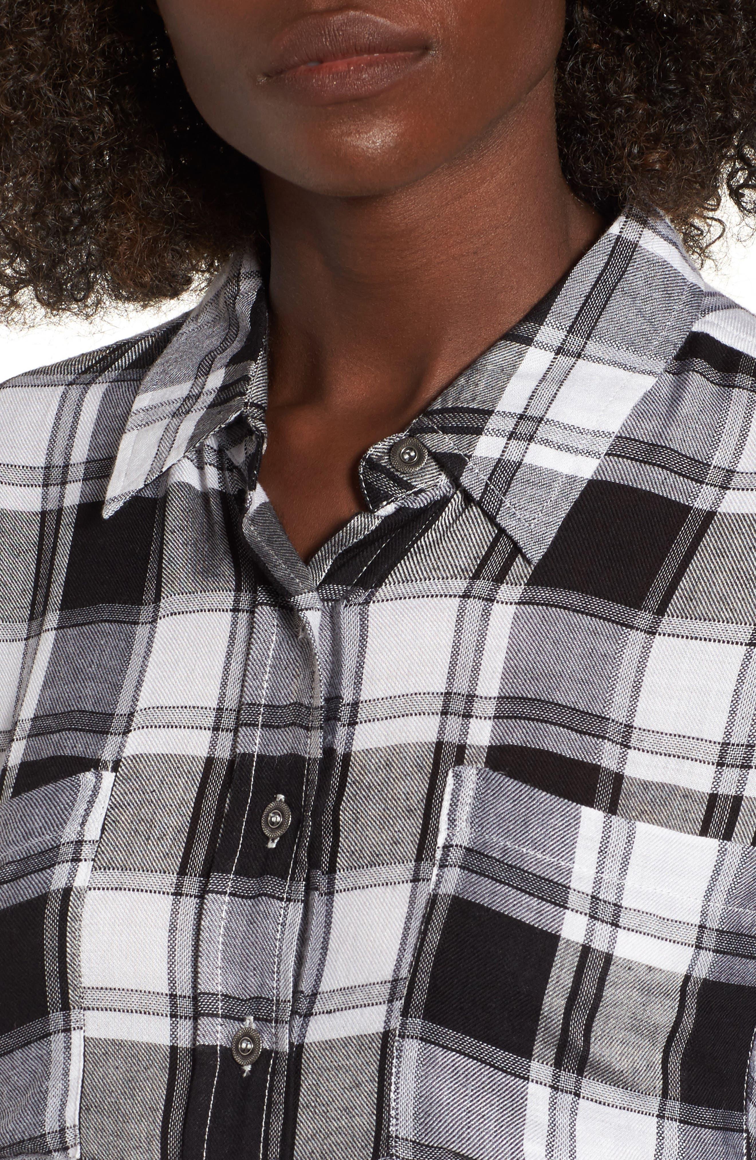 Alternate Image 5  - Lira Clothing Anarchy Plaid Shirt