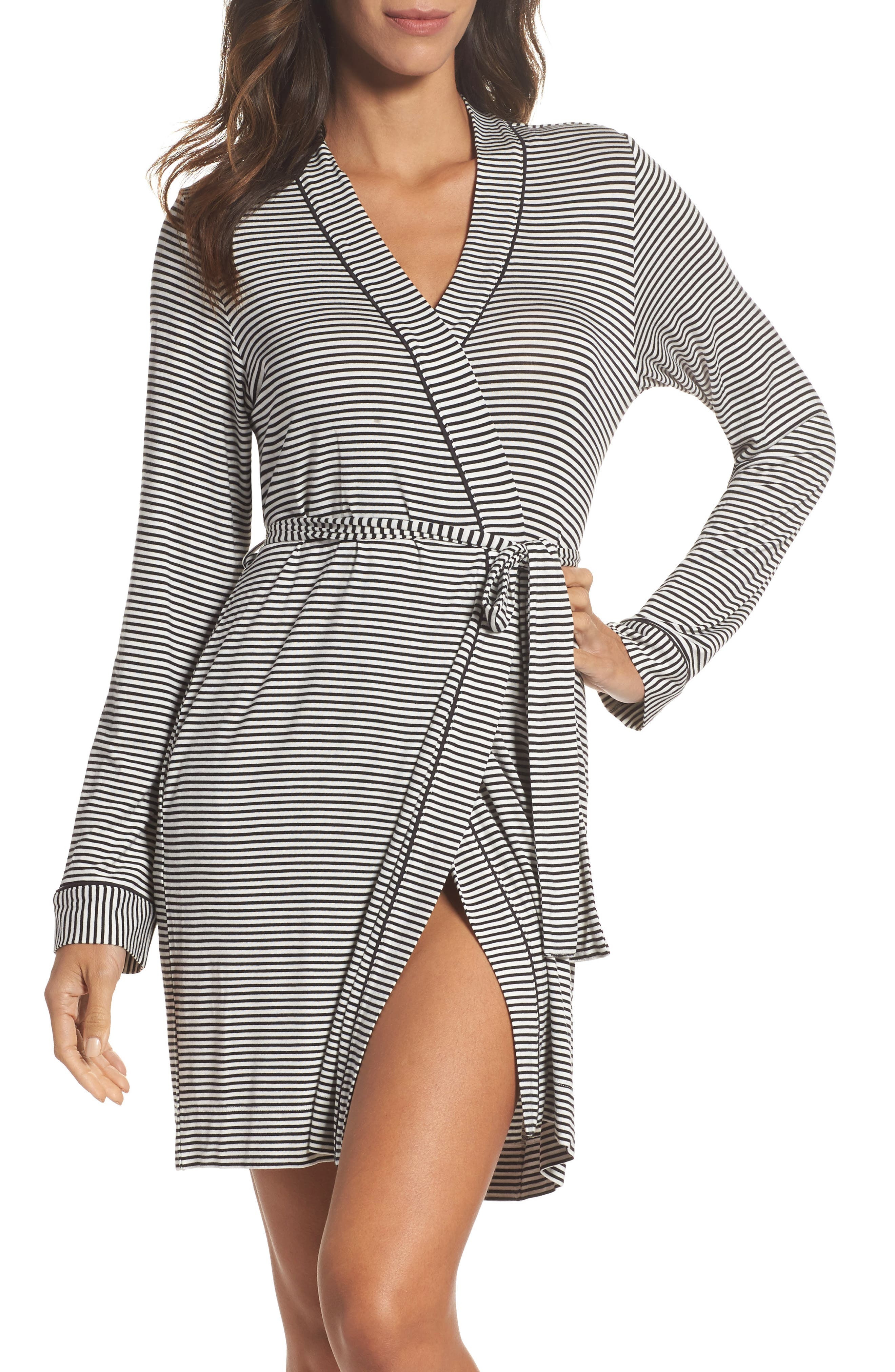 UGG® Aldridge Stripe Short Robe